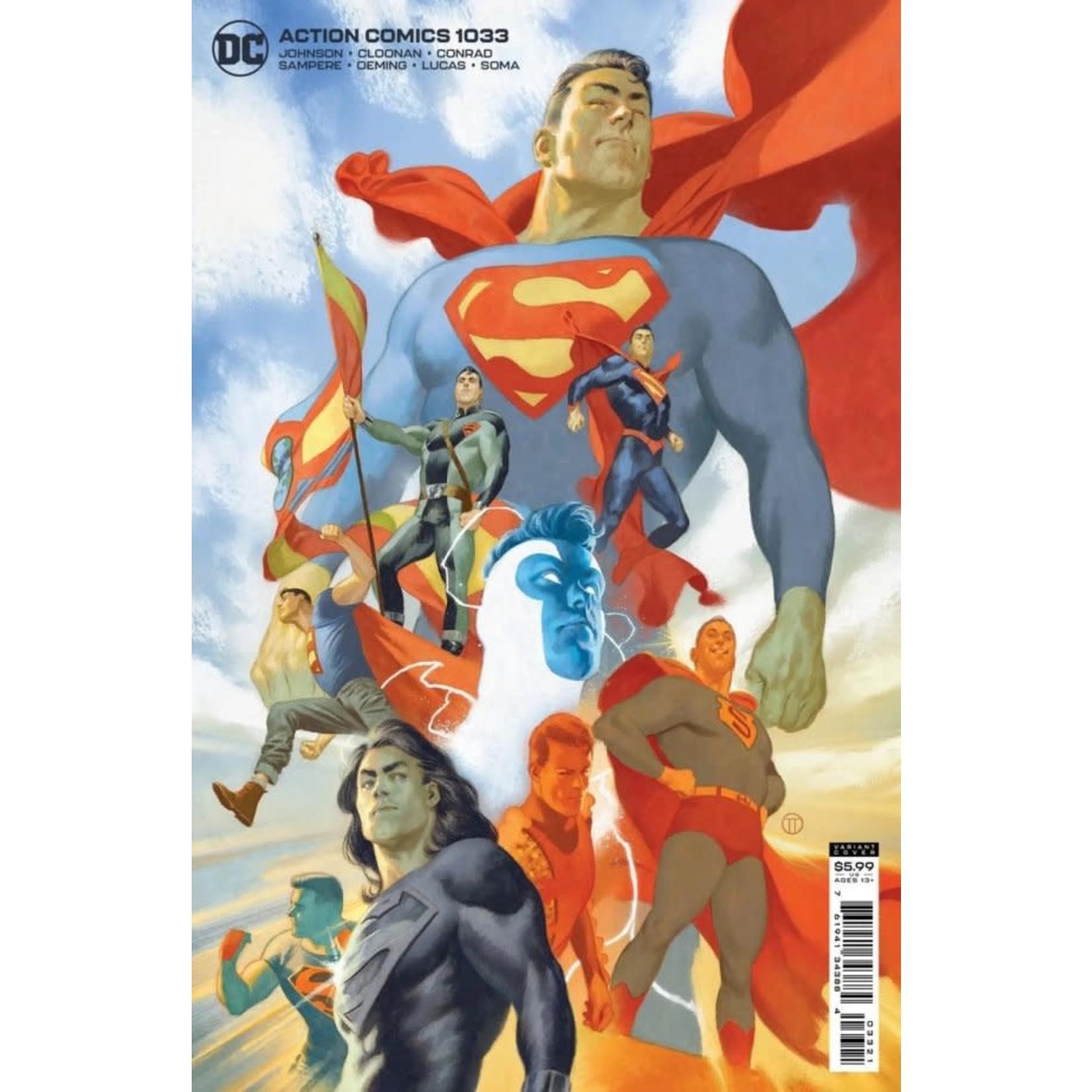 DC Comics Action Comics #1033 Tedesco Variant Cover