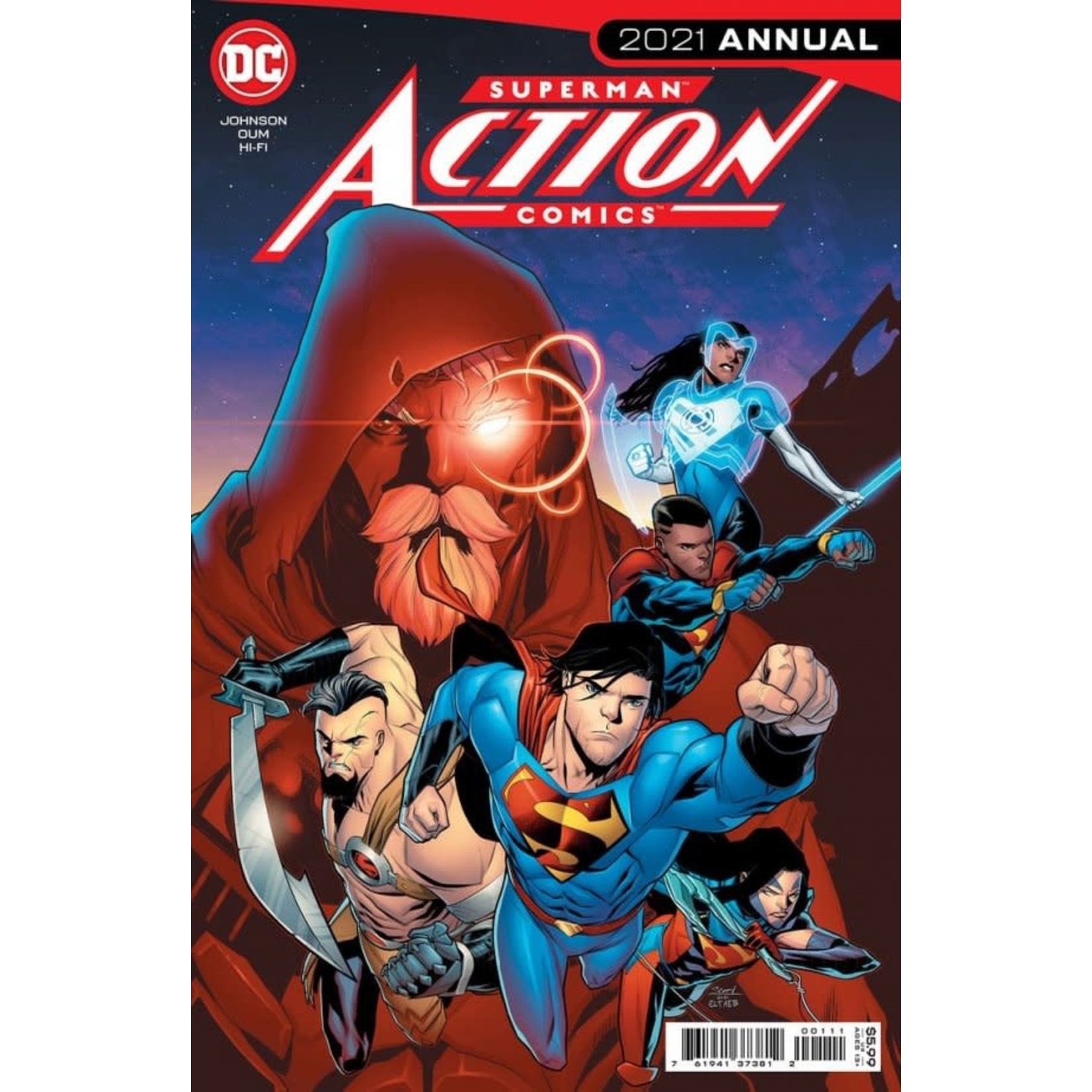 DC Comics Action Comics 2021 Annual