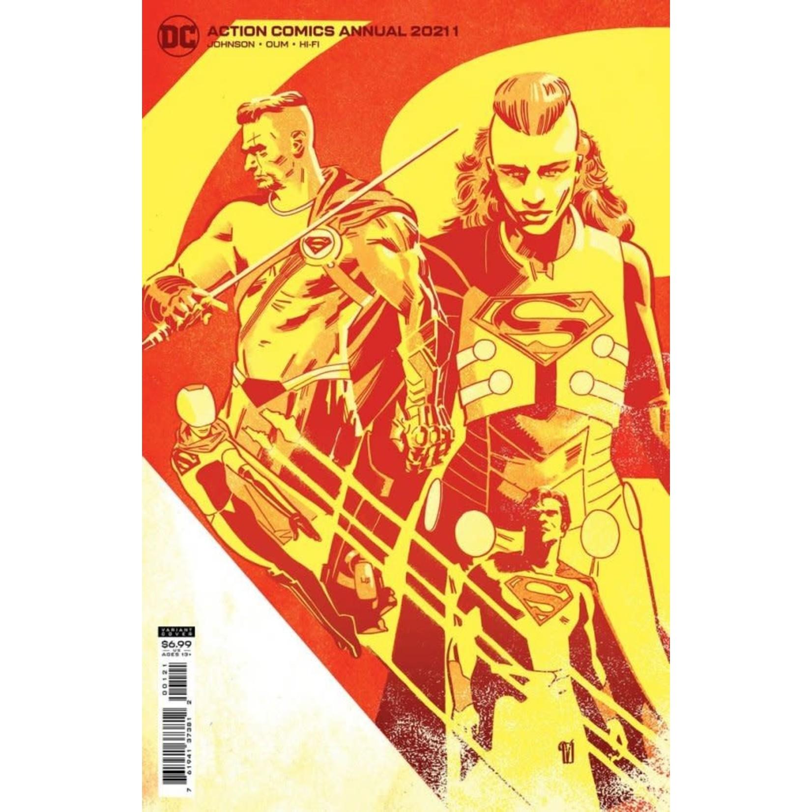 DC Comics Action Comics Annual 2021 Variant Cover