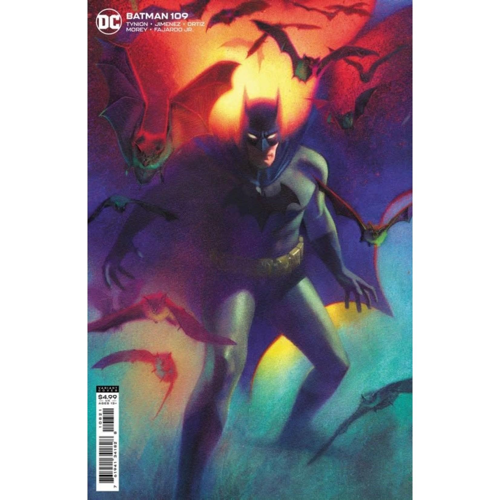 DC Comics BATMAN #109 CVR B JOSHUA MIDDLETON VAR