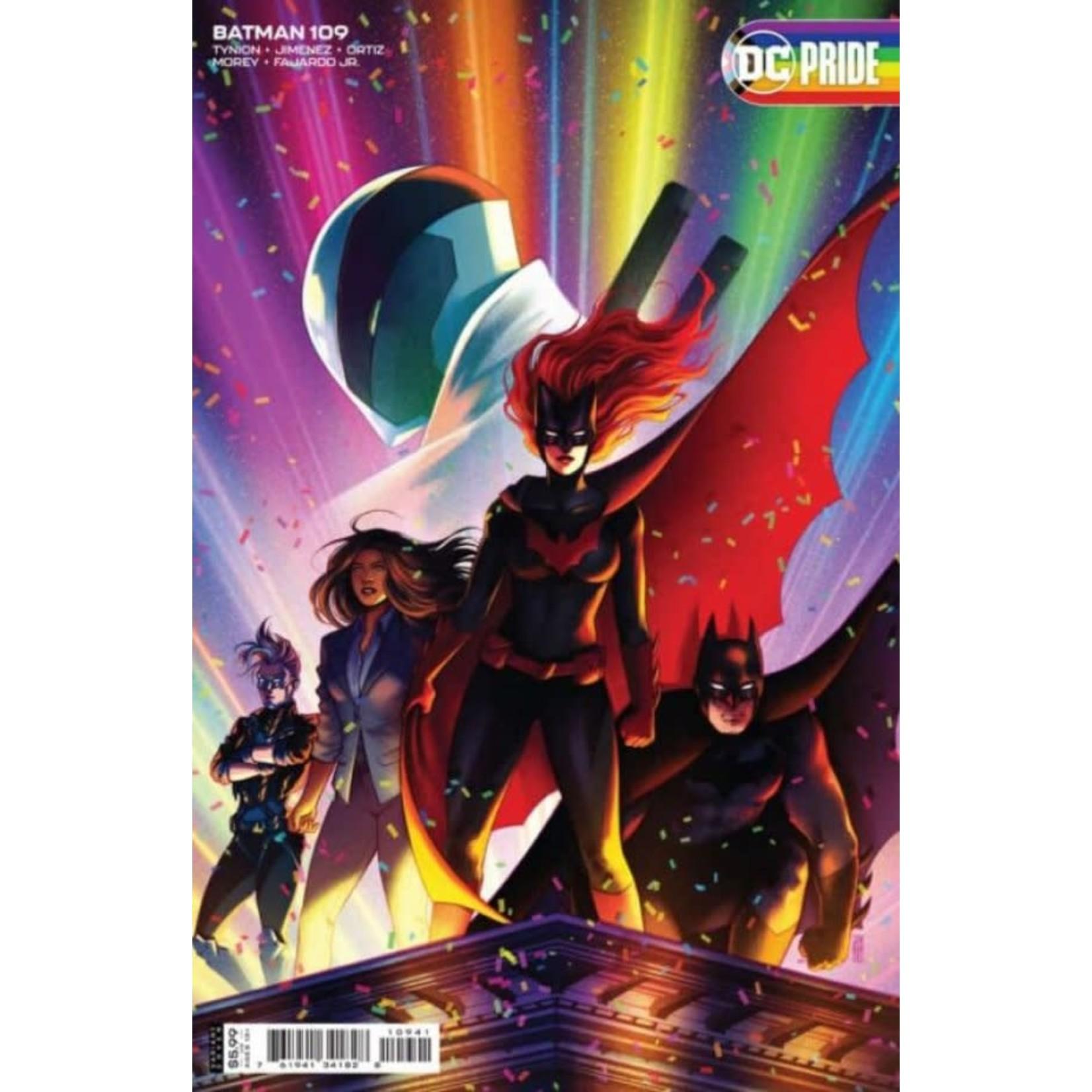 DC Comics BATMAN #109 CVR C JEN BARTEL PRIDE