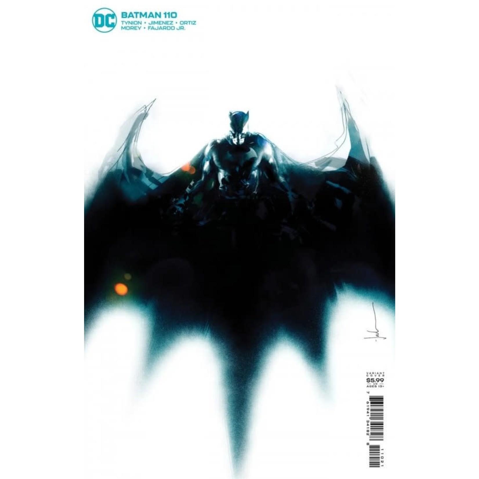 DC Comics Batman #110 Jock Variant