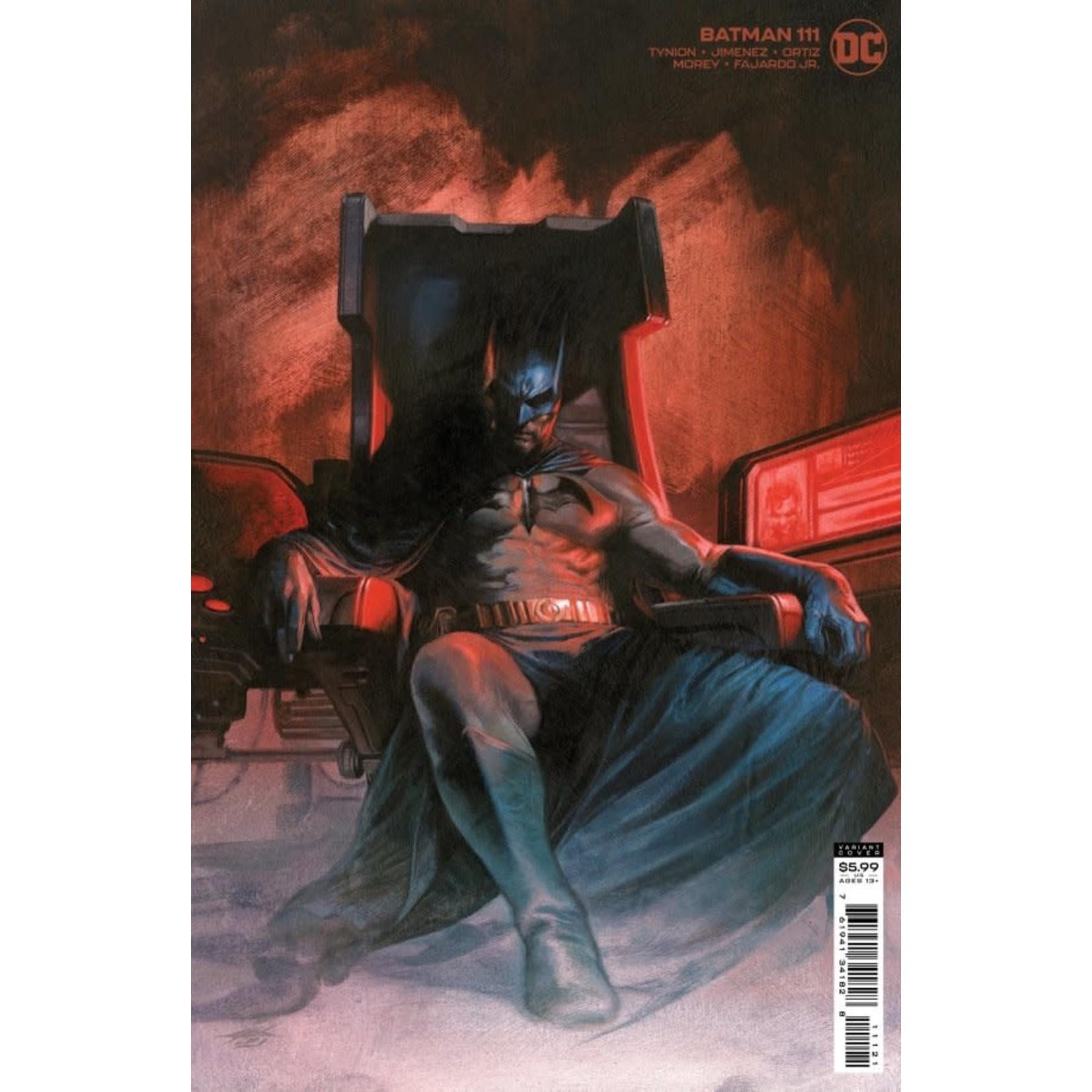 DC Comics Batman #111 Cover B Dell'Otto Variant