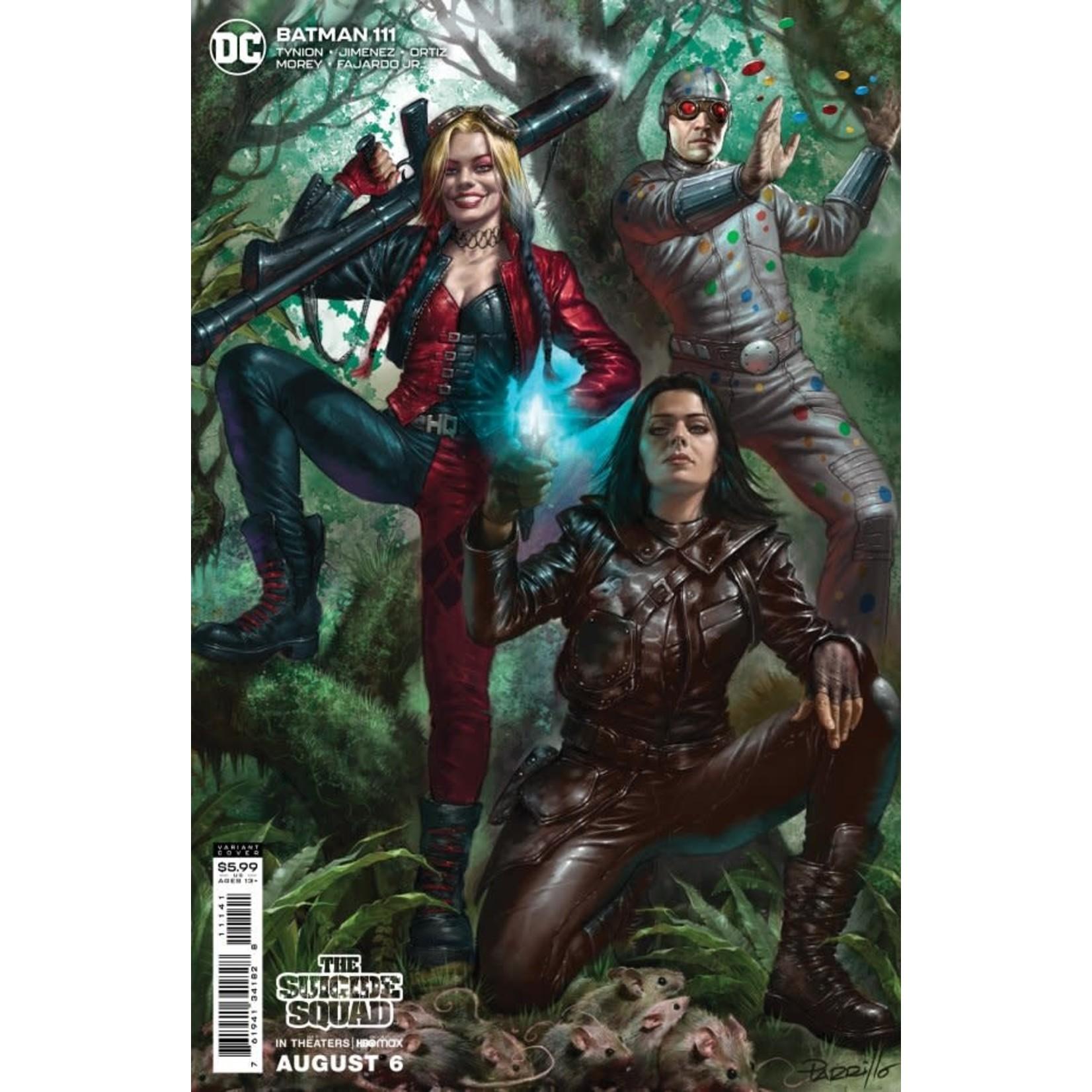 DC Comics Batman #111 Cover C Parrillo  Variant