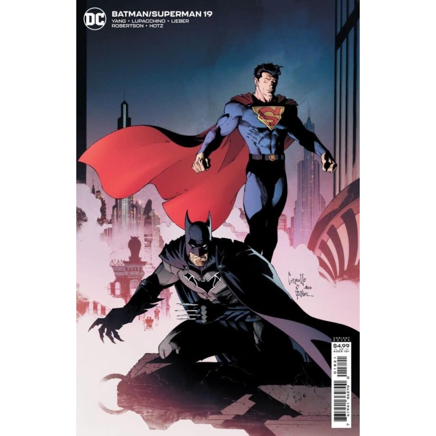 DC Comics Batman / Superman #19 Variant Cover