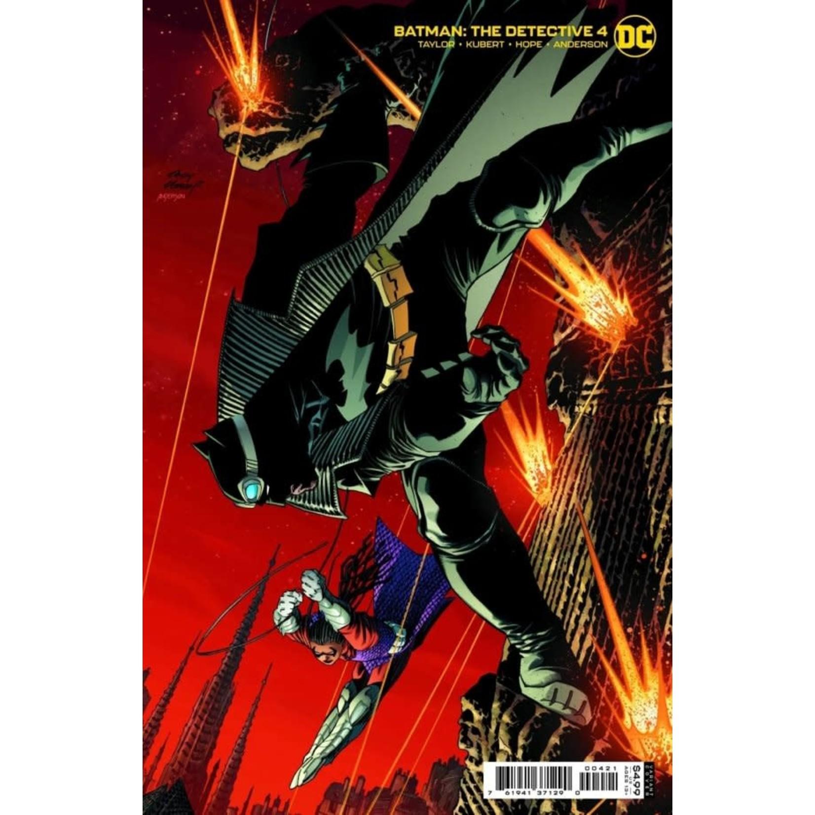DC Comics Batman : The detective #4 of 6 Variant Cover