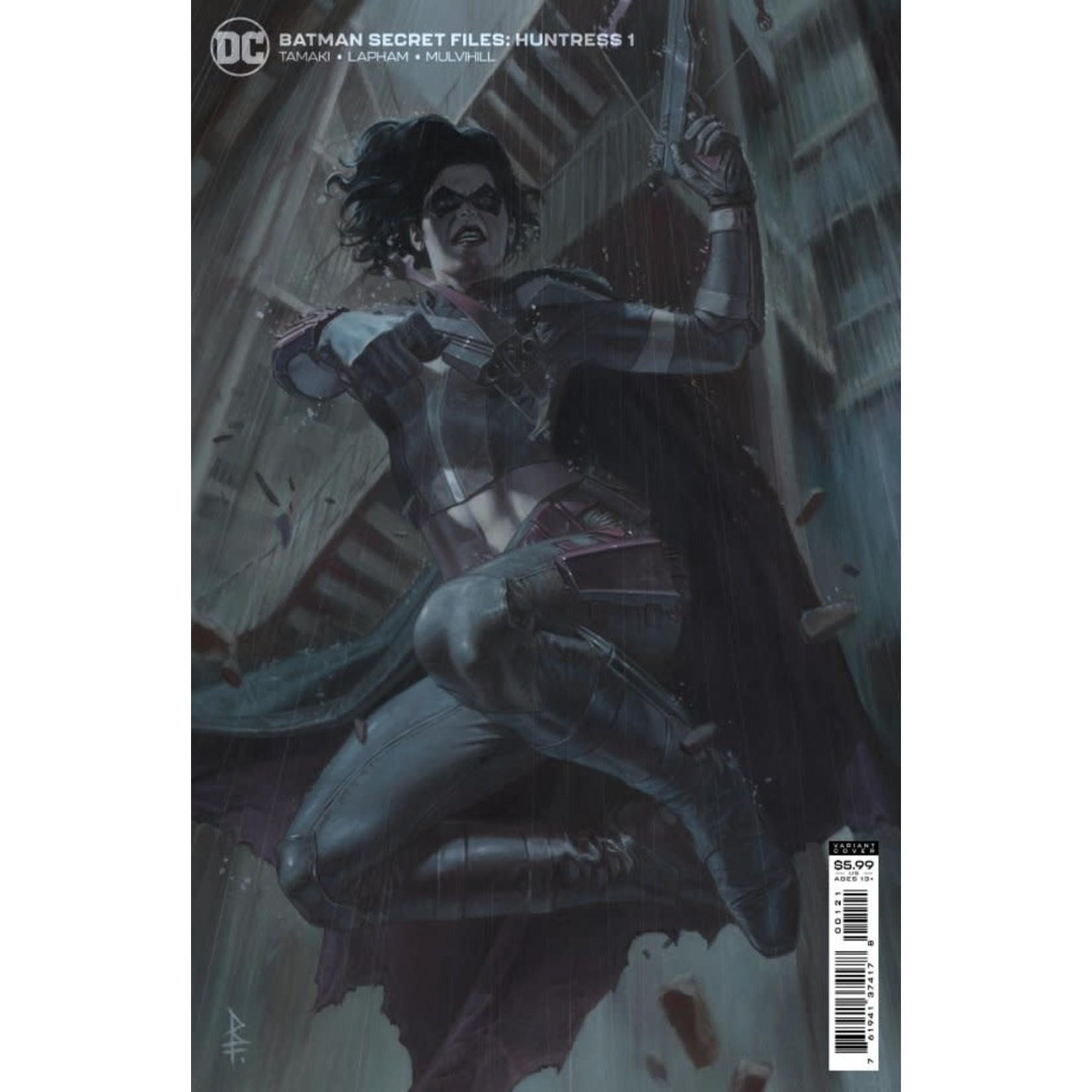 DC Comics Batman Secret Files: Huntress #1 Variant Cover By Riccardo Federici