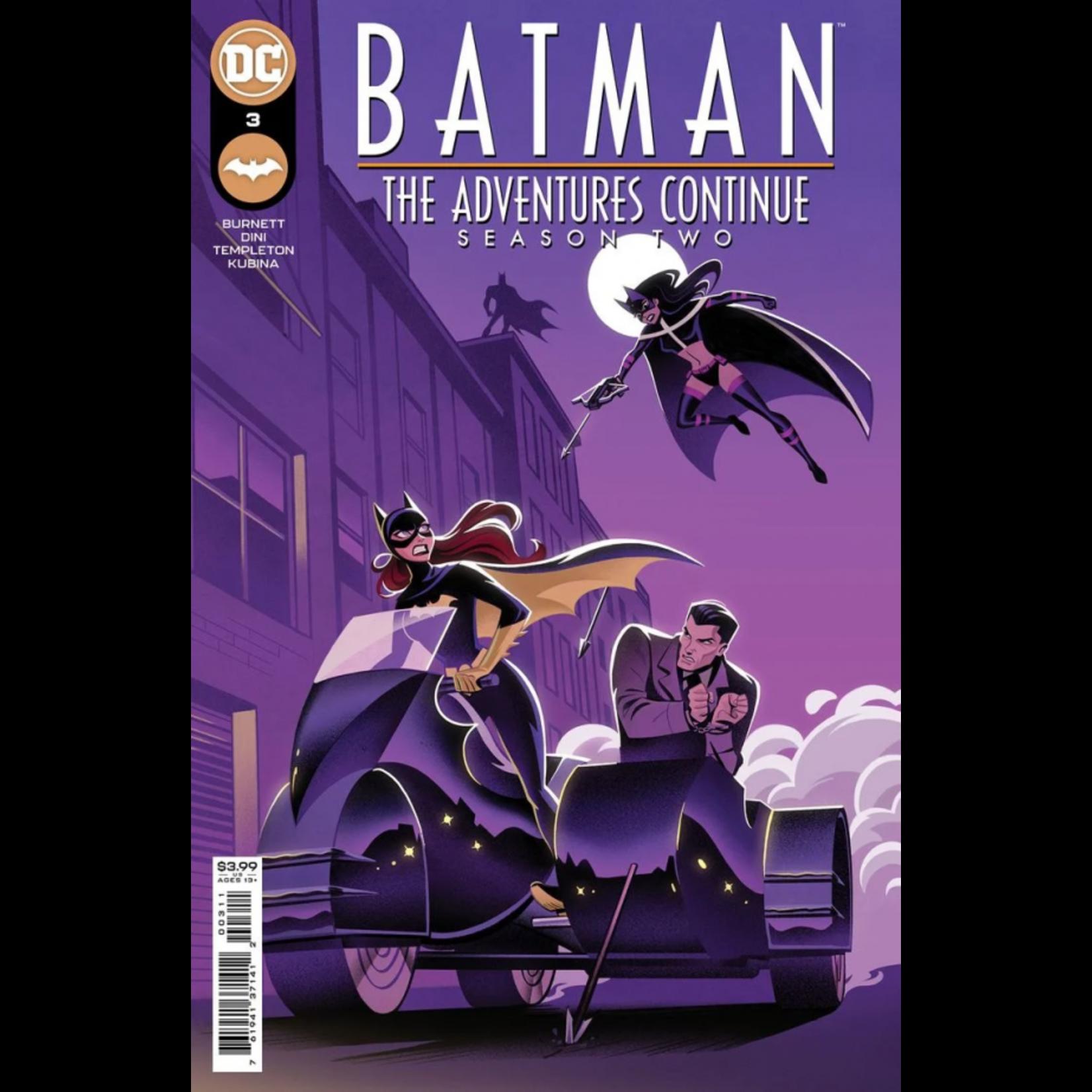 DC Comics Batman The Adventures continue Season 2 #3 cover A