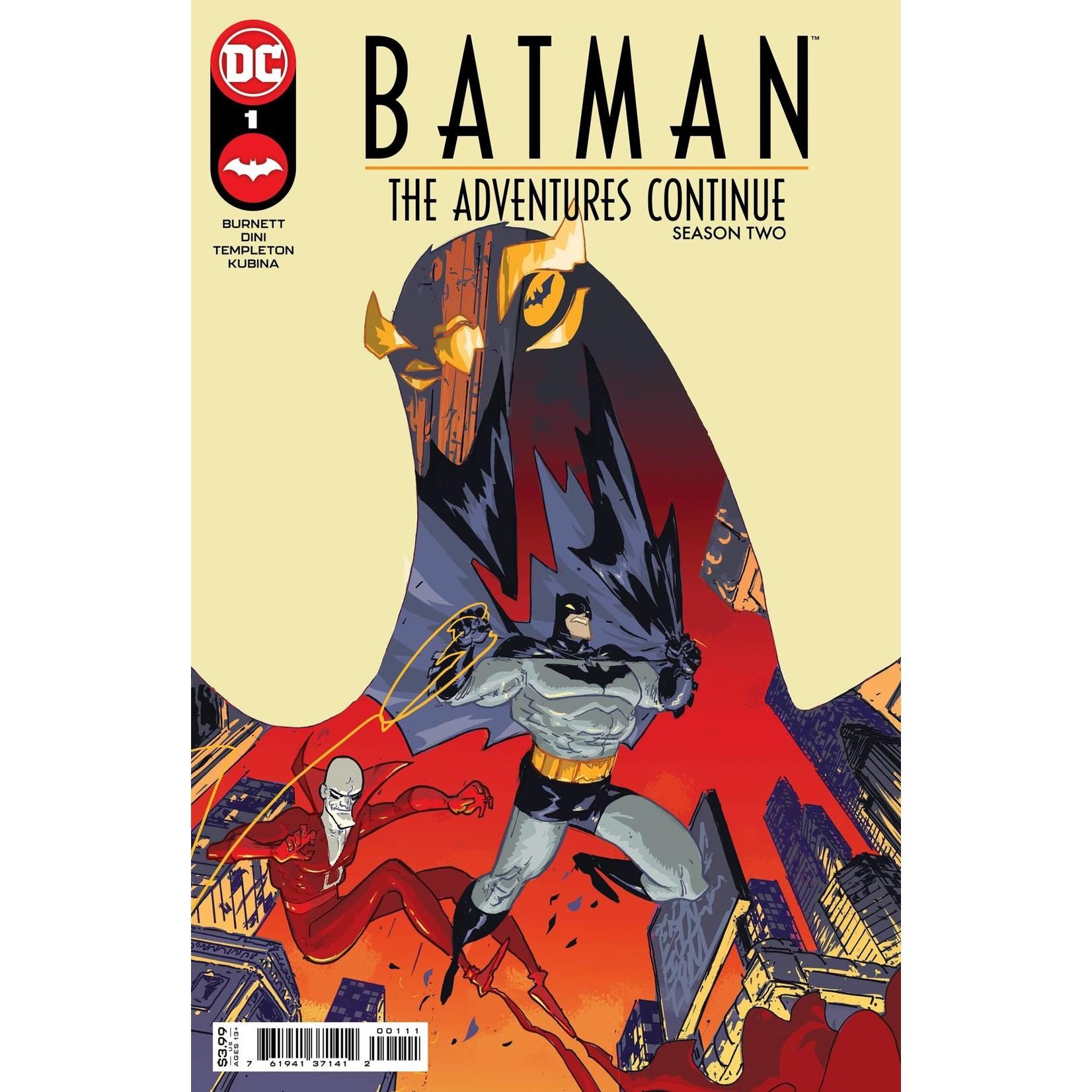 DC Comics BATMAN THE ADVENTURES CONTINUE SEASON II #1 CVR A