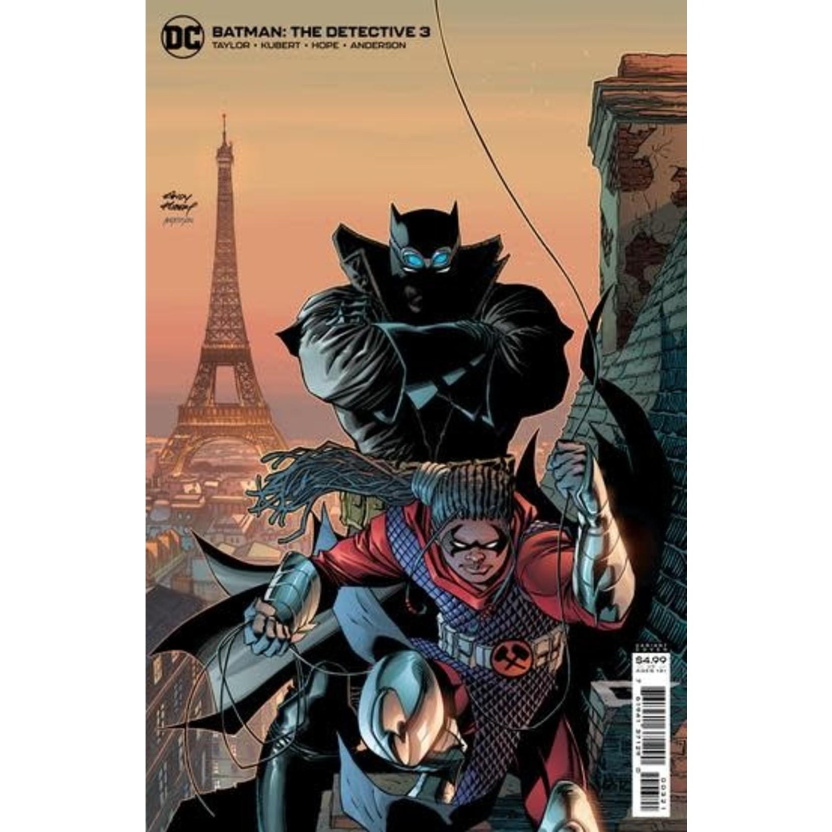 DC Comics BATMAN THE DETECTIVE #3 (OF 6) CVR B ANDY KUBERT C
