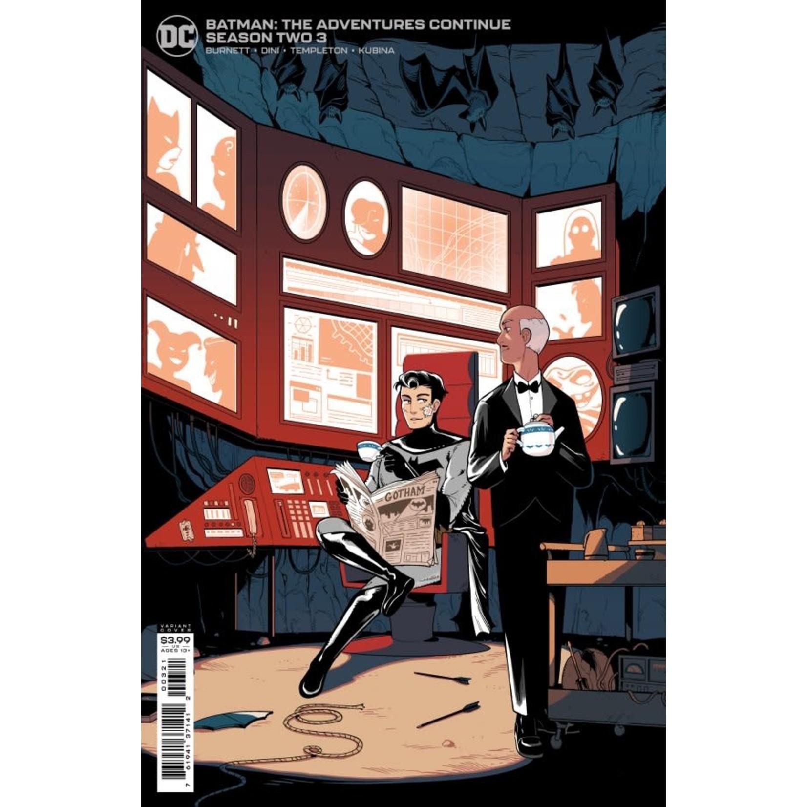 DC Comics Batman: The Adventures Continue Season Two #3 Cover B Chau Variant