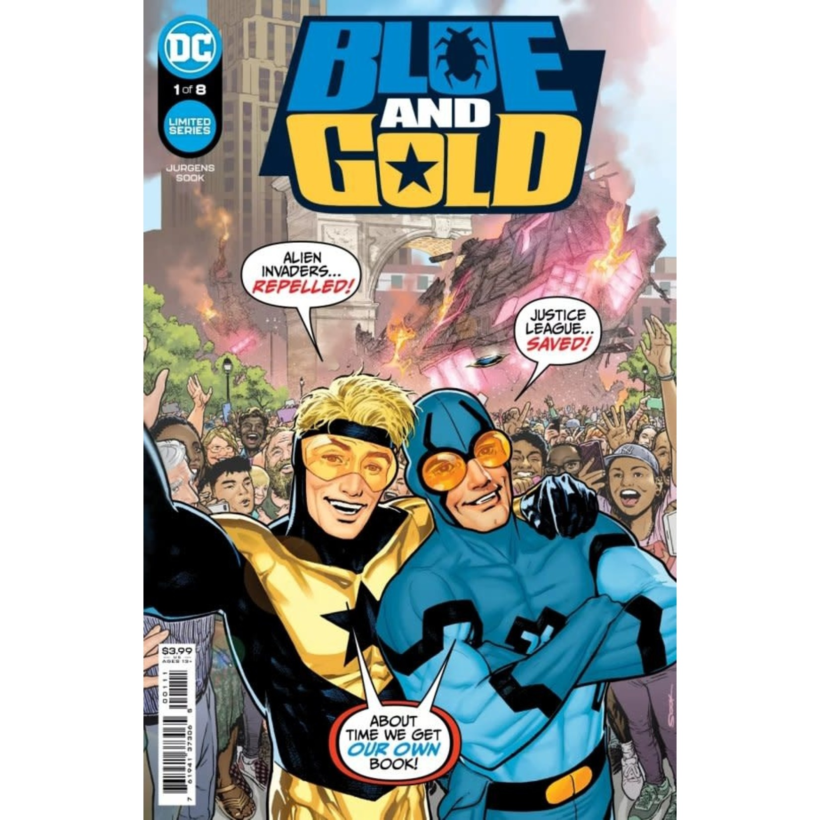 DC Comics Blue & Gold #1