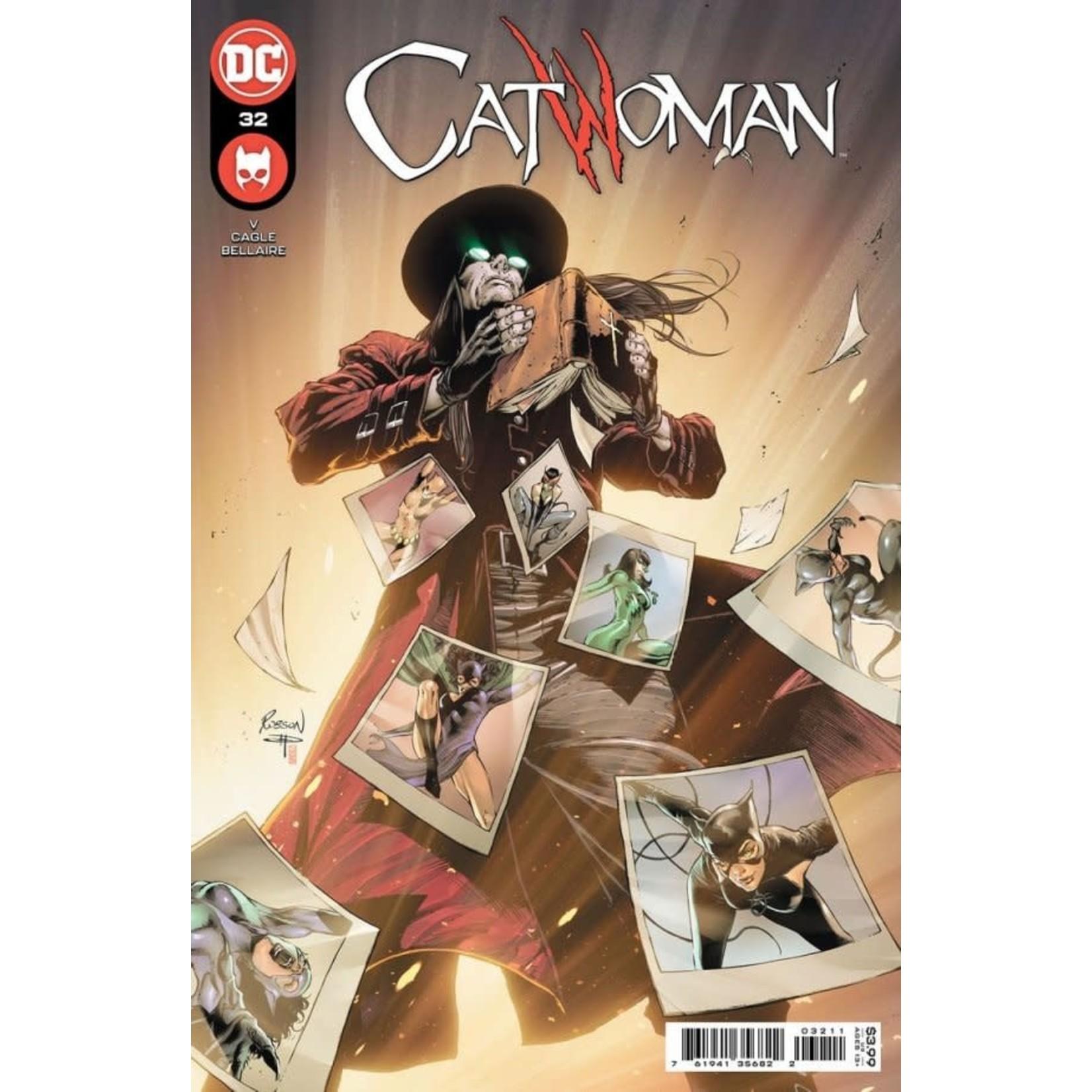 DC Comics CATWOMAN #32 CVR A ROBSON ROCHA