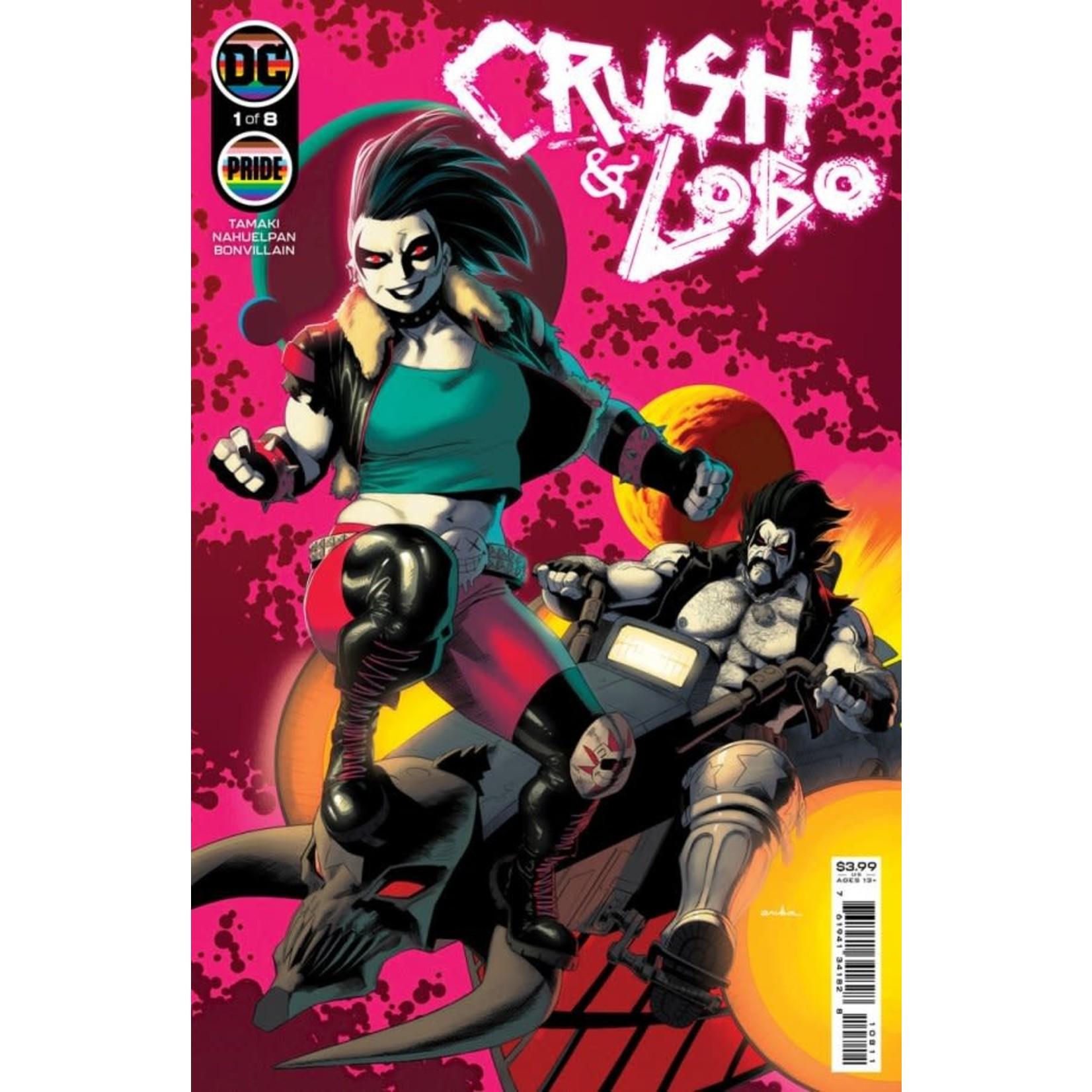 DC Comics CRUSH & LOBO #1 (OF 8) CVR A KRIS ANKA