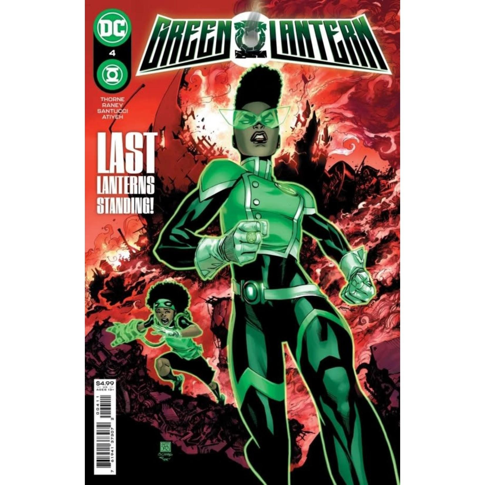 DC Comics Green Lantern #4