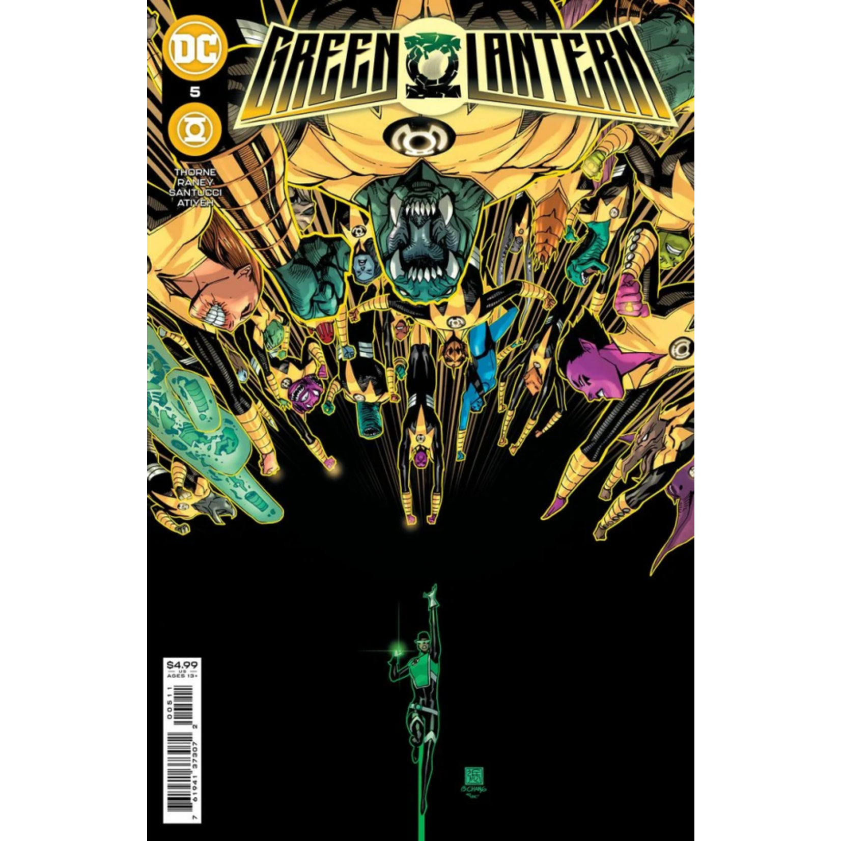 DC Comics Green Lantern #5