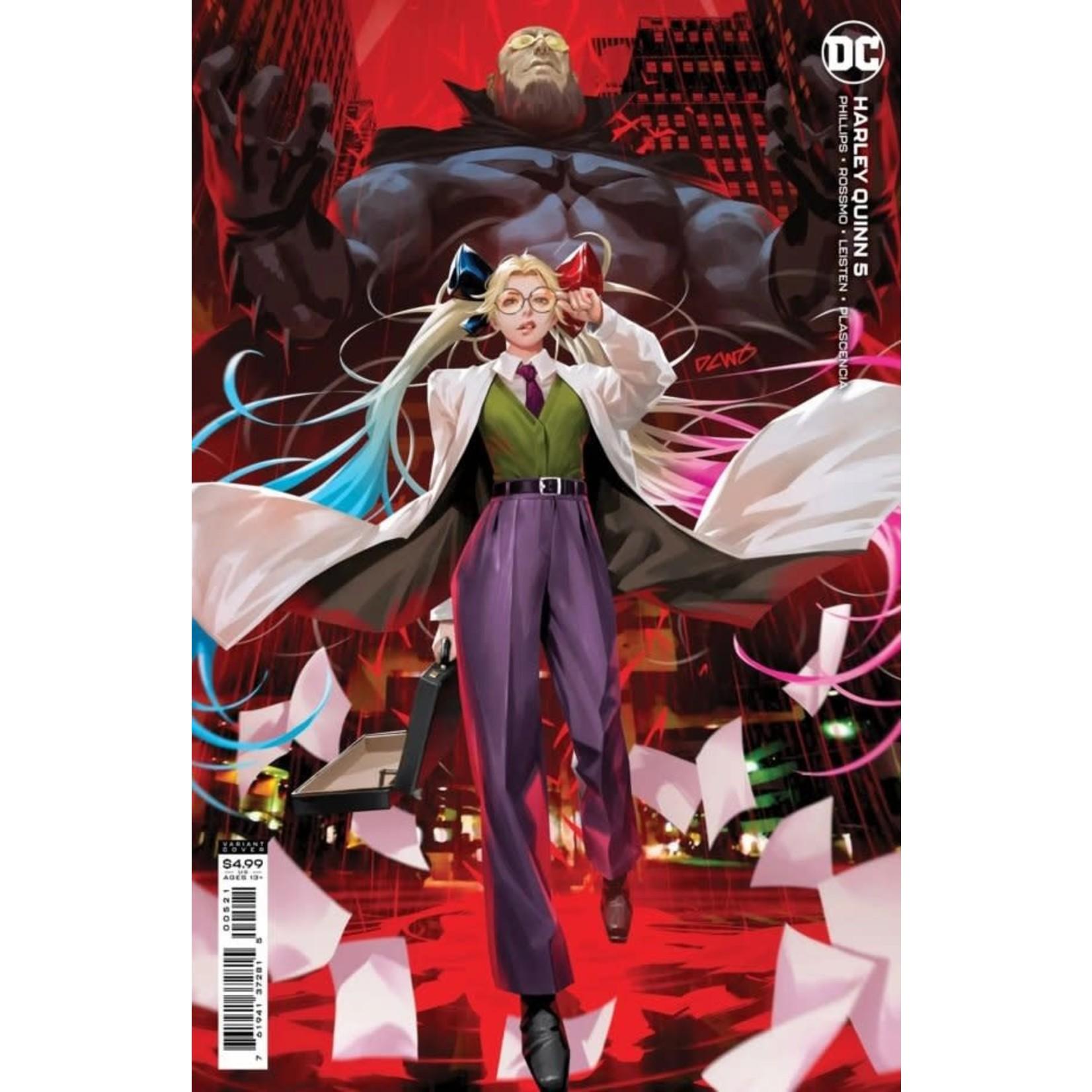 DC Comics Harley Quinn #5 Derrick Chew Card Stock Variant Cover