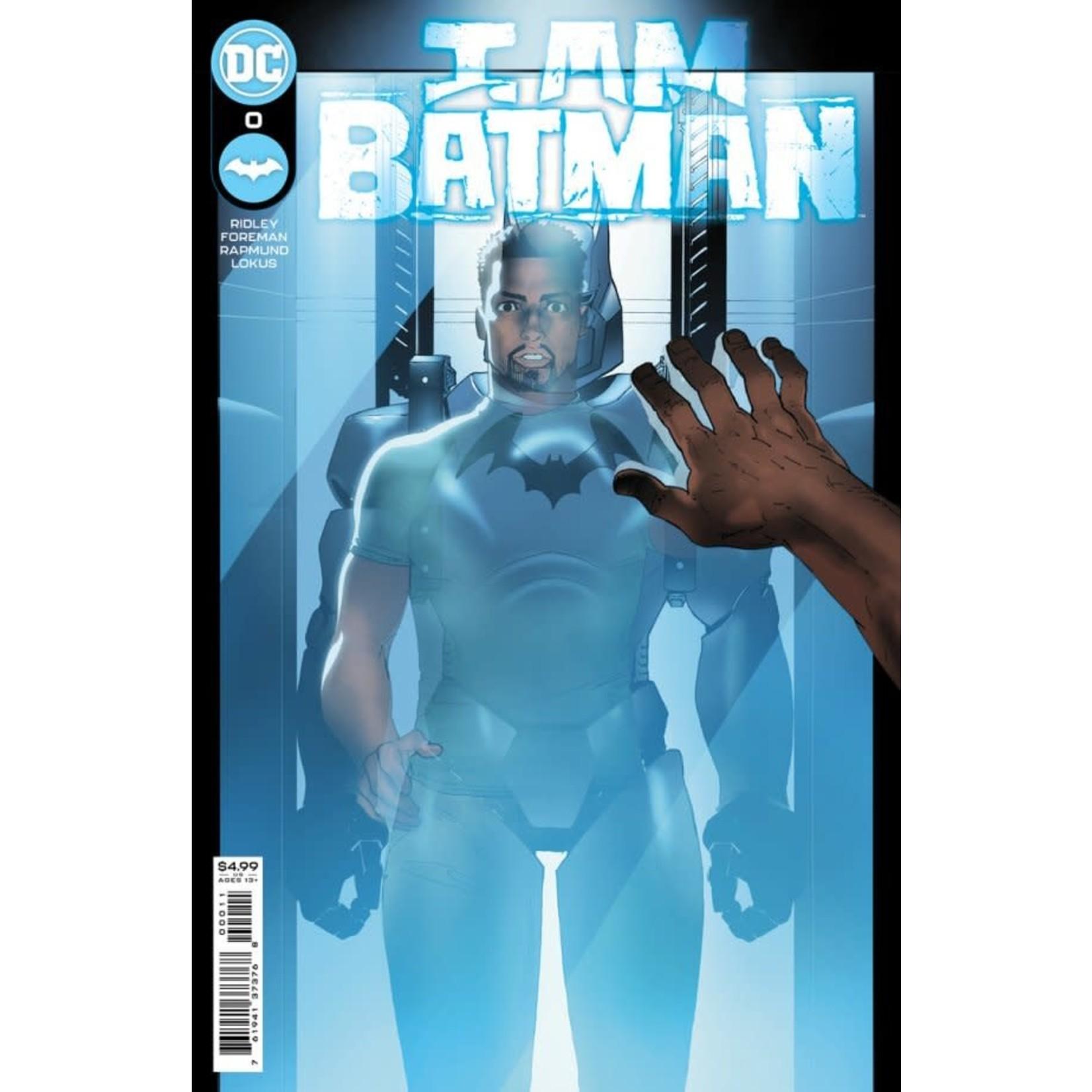 DC Comics I am Batman #0 Cover A