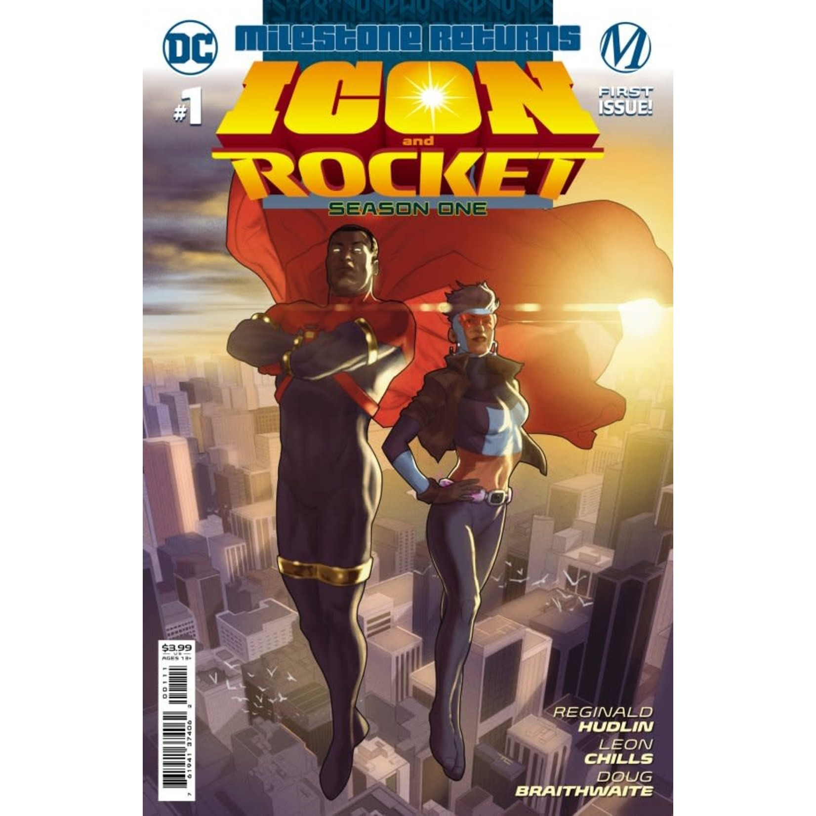 DC Comics Icon and Rocket #1