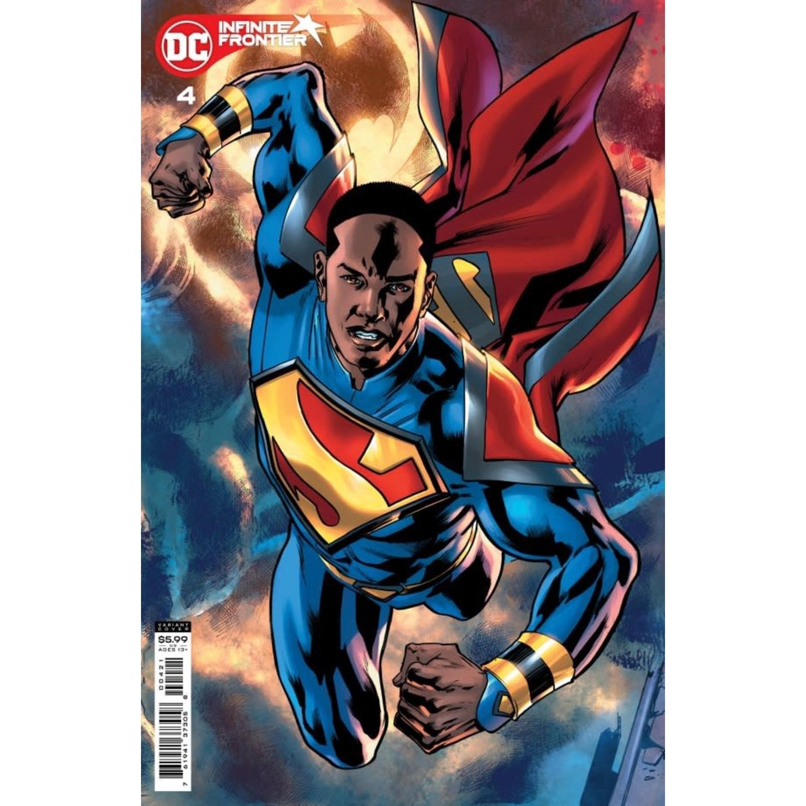 DC Comics Infinite Frontier #4 Cover B