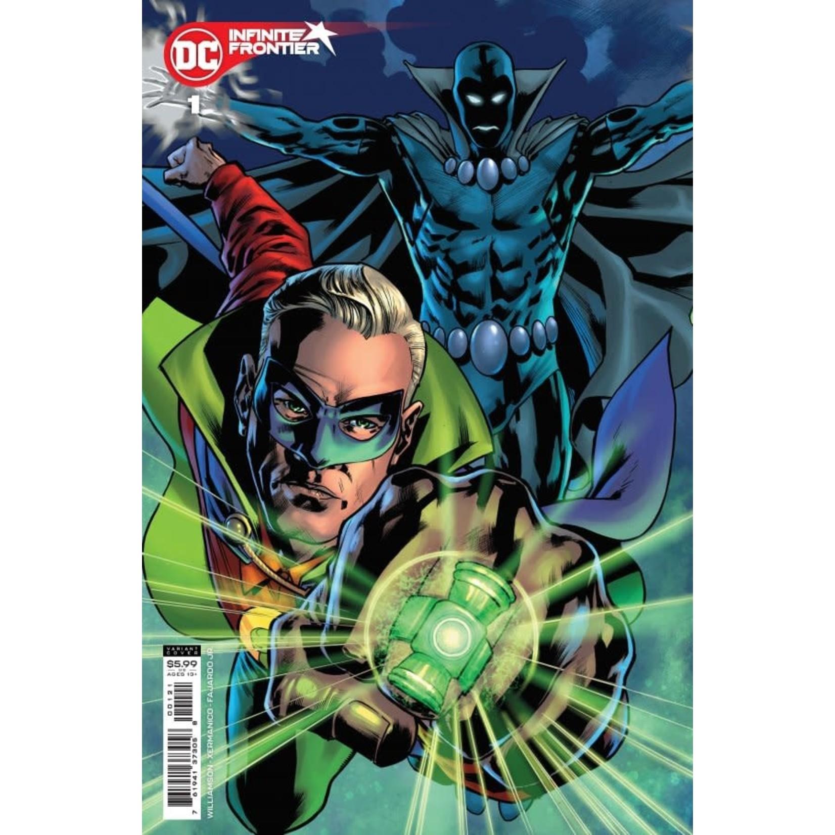 DC Comics Infinite frontier #1 variant
