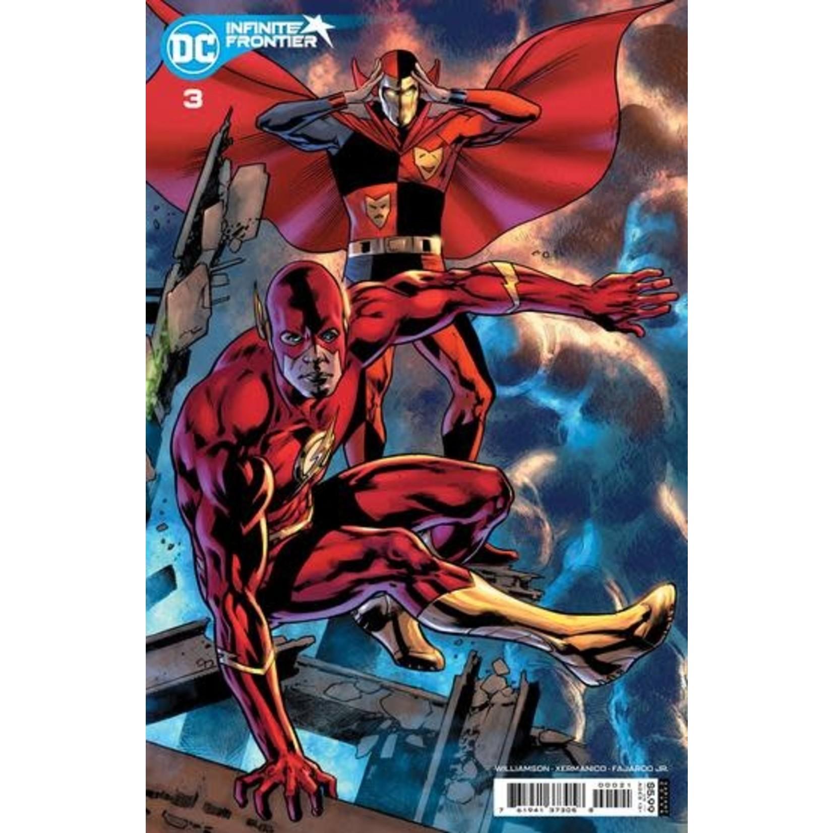 DC Comics Infinity frontier #3 var