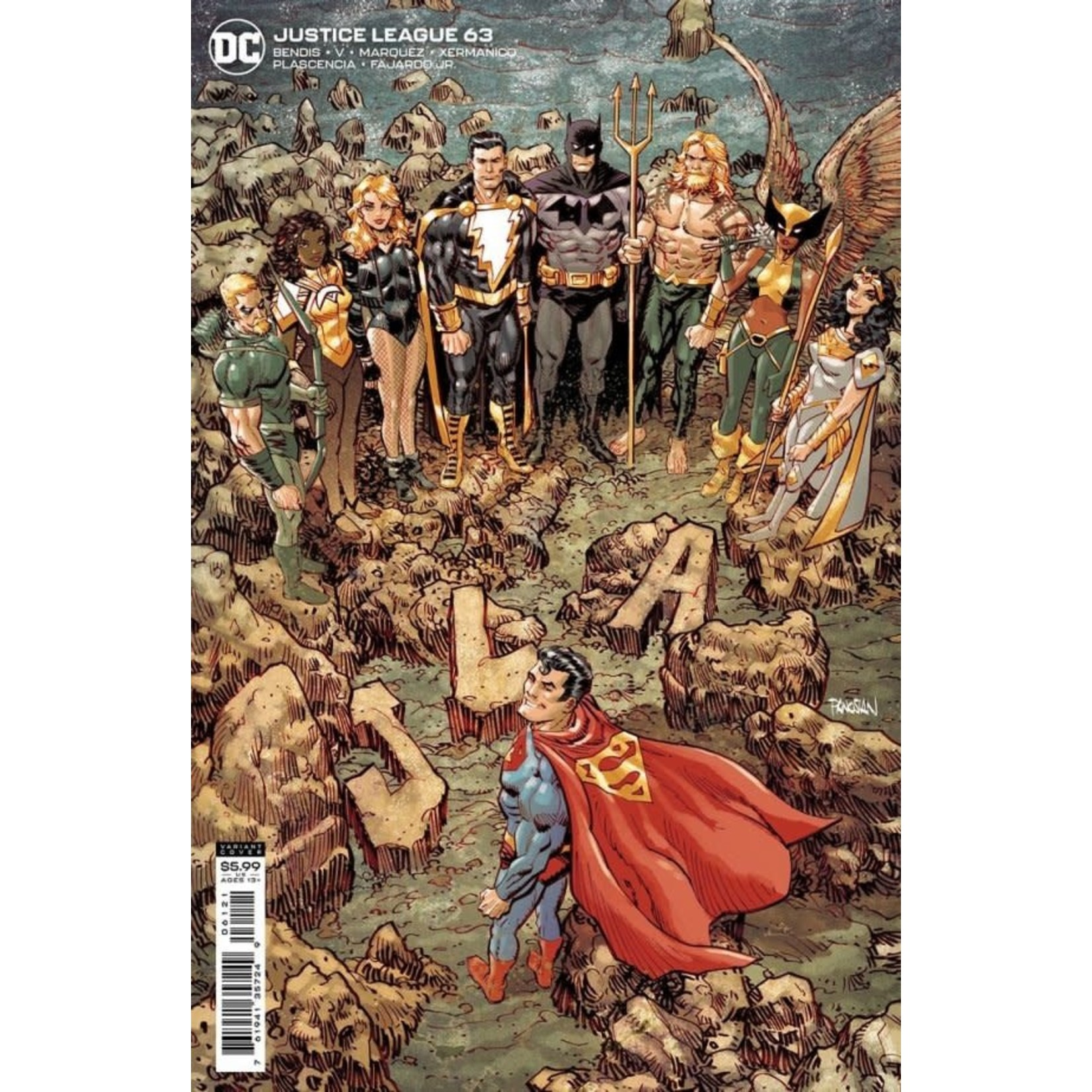 DC Comics Justice League #63 Variant