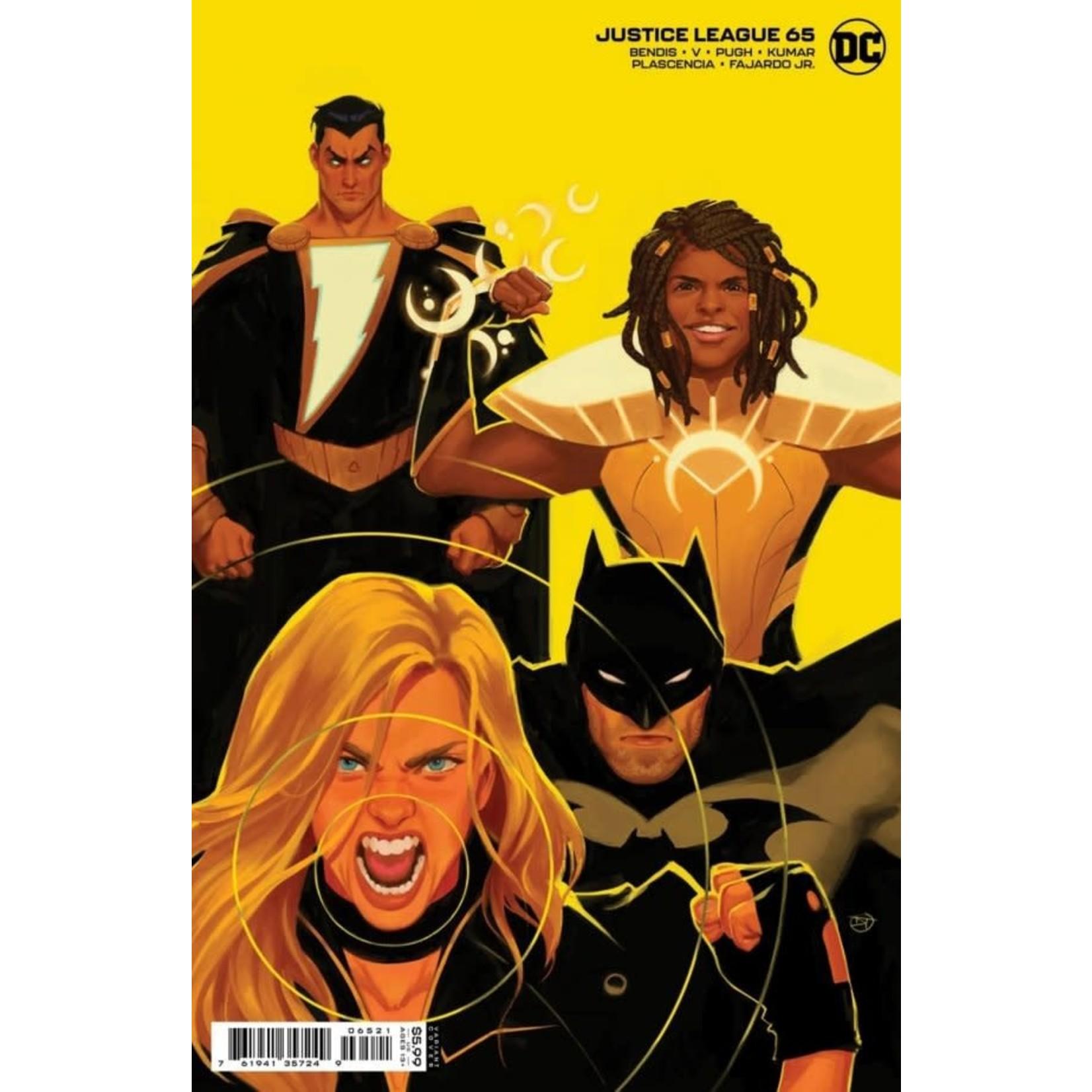 DC Comics Justice League #65 VAR