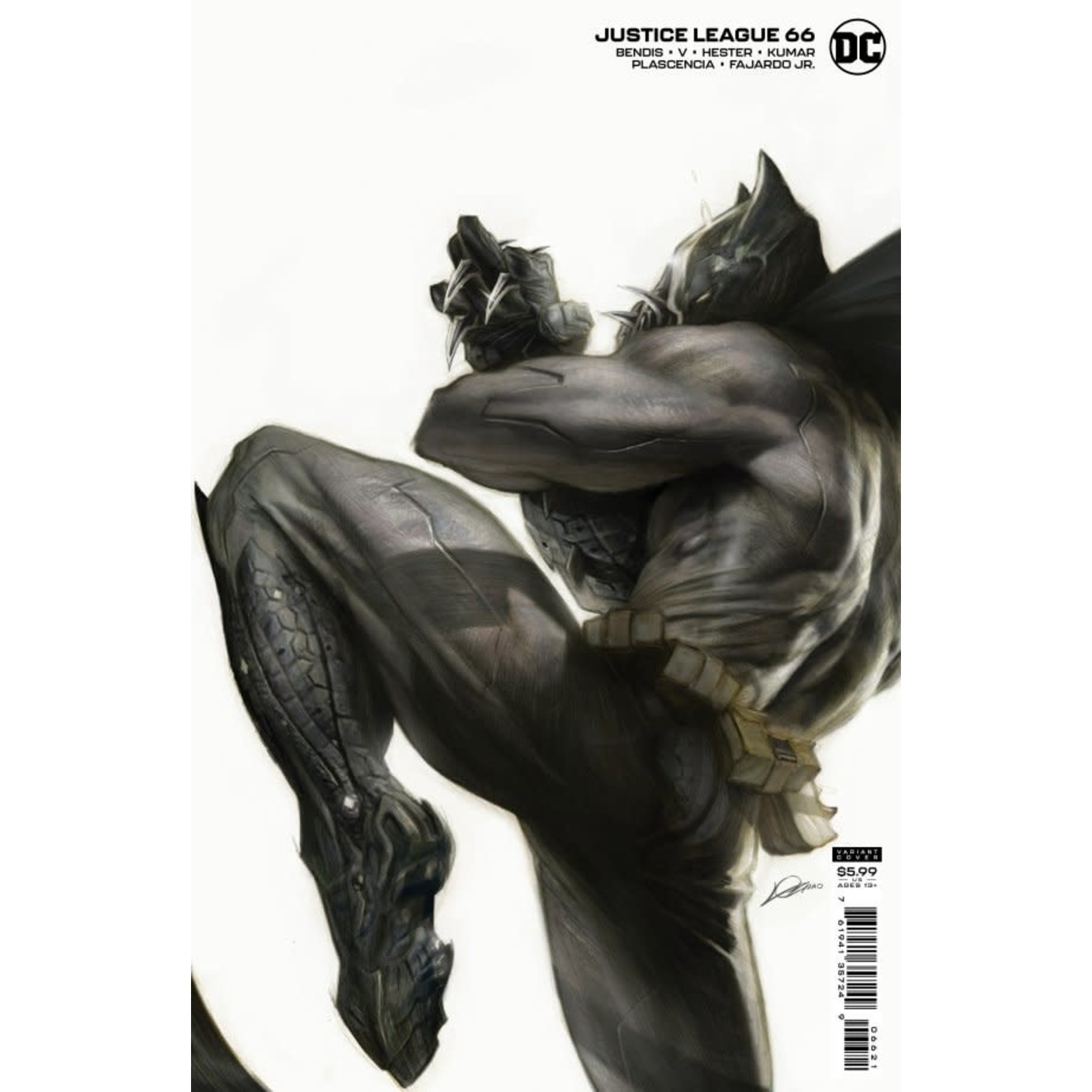 DC Comics Justice League #66 VAR