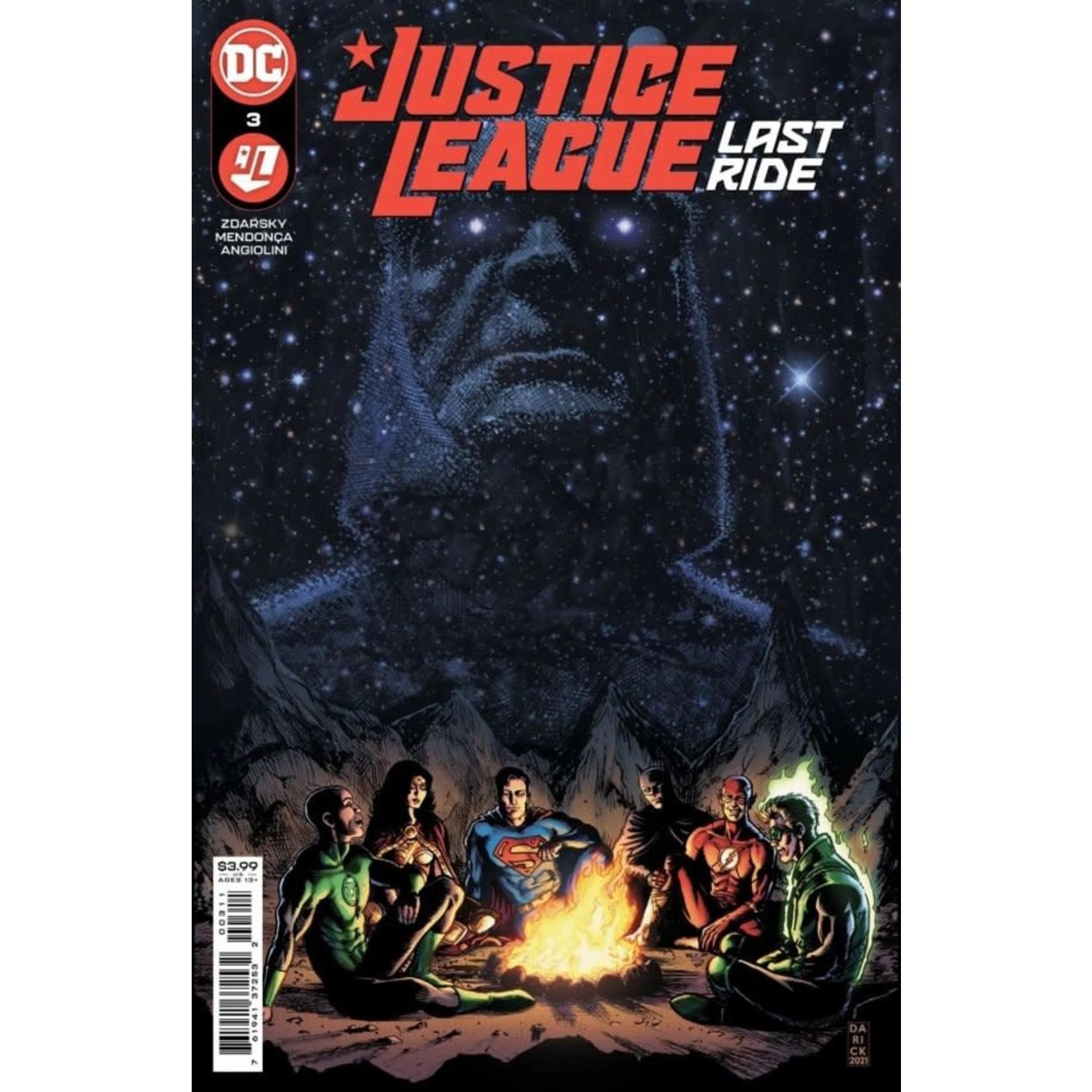 DC Comics Justice league Last Ride #3