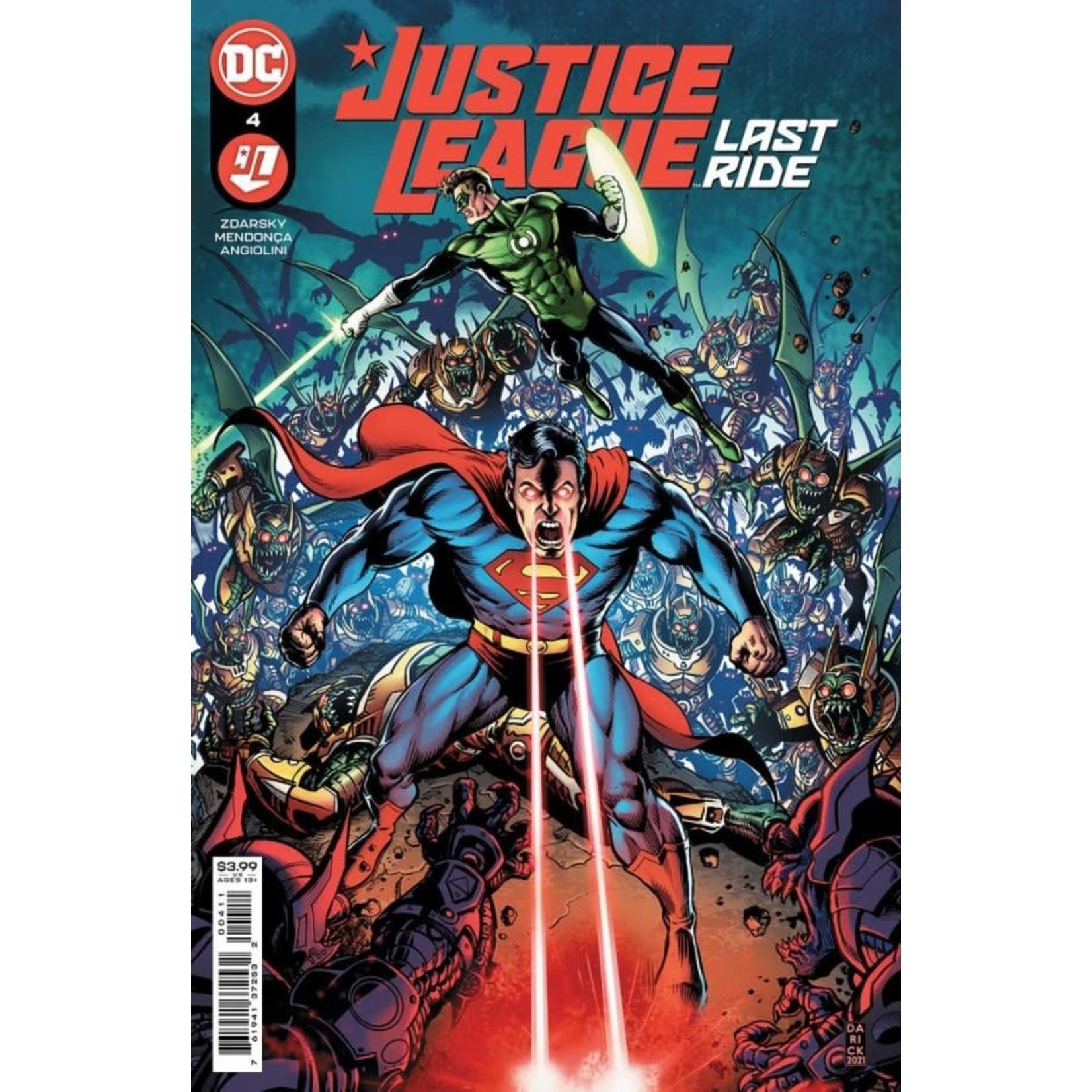 DC Comics Justice League Last ride #4 Cover A
