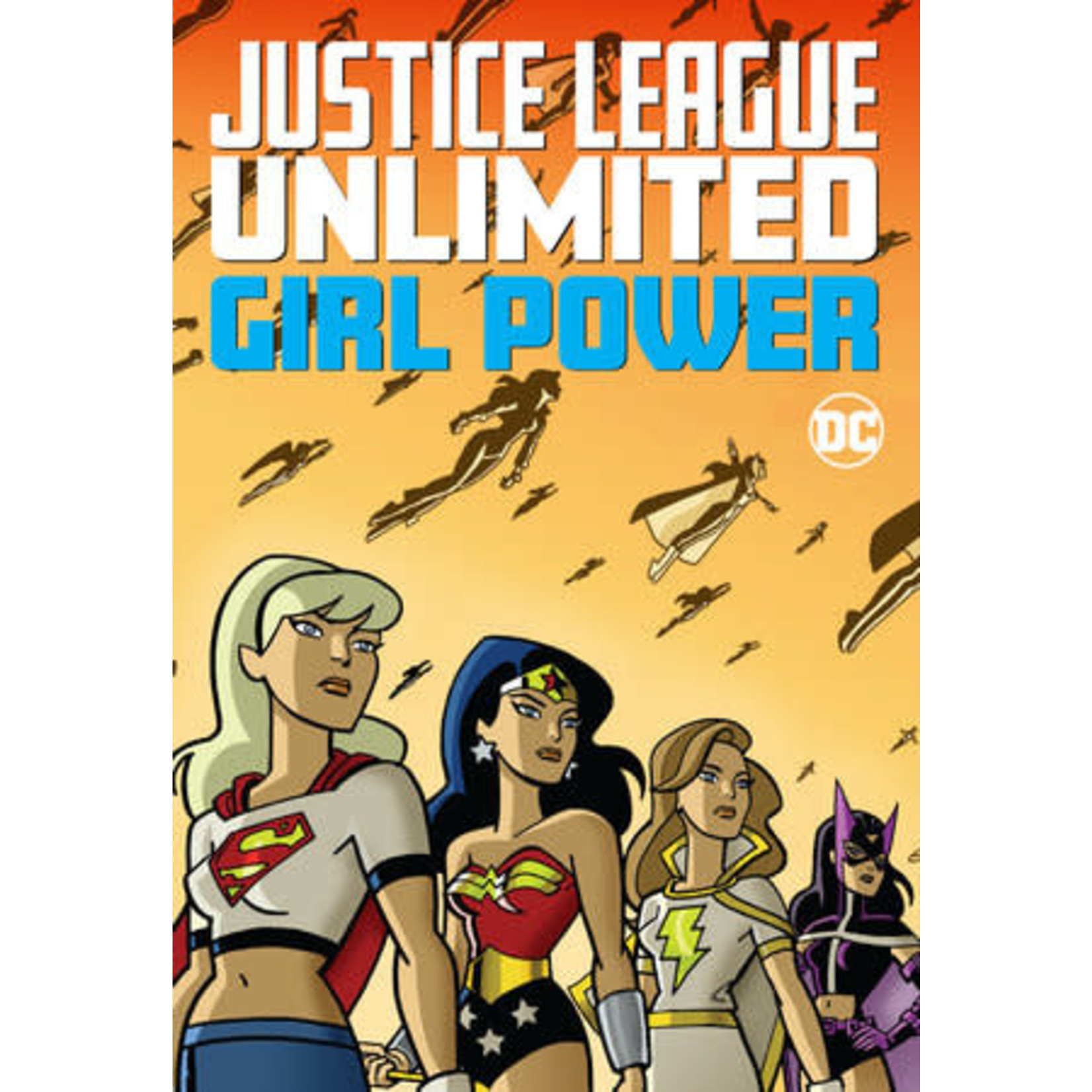 DC Comics Justice League Unlimited Girl Power