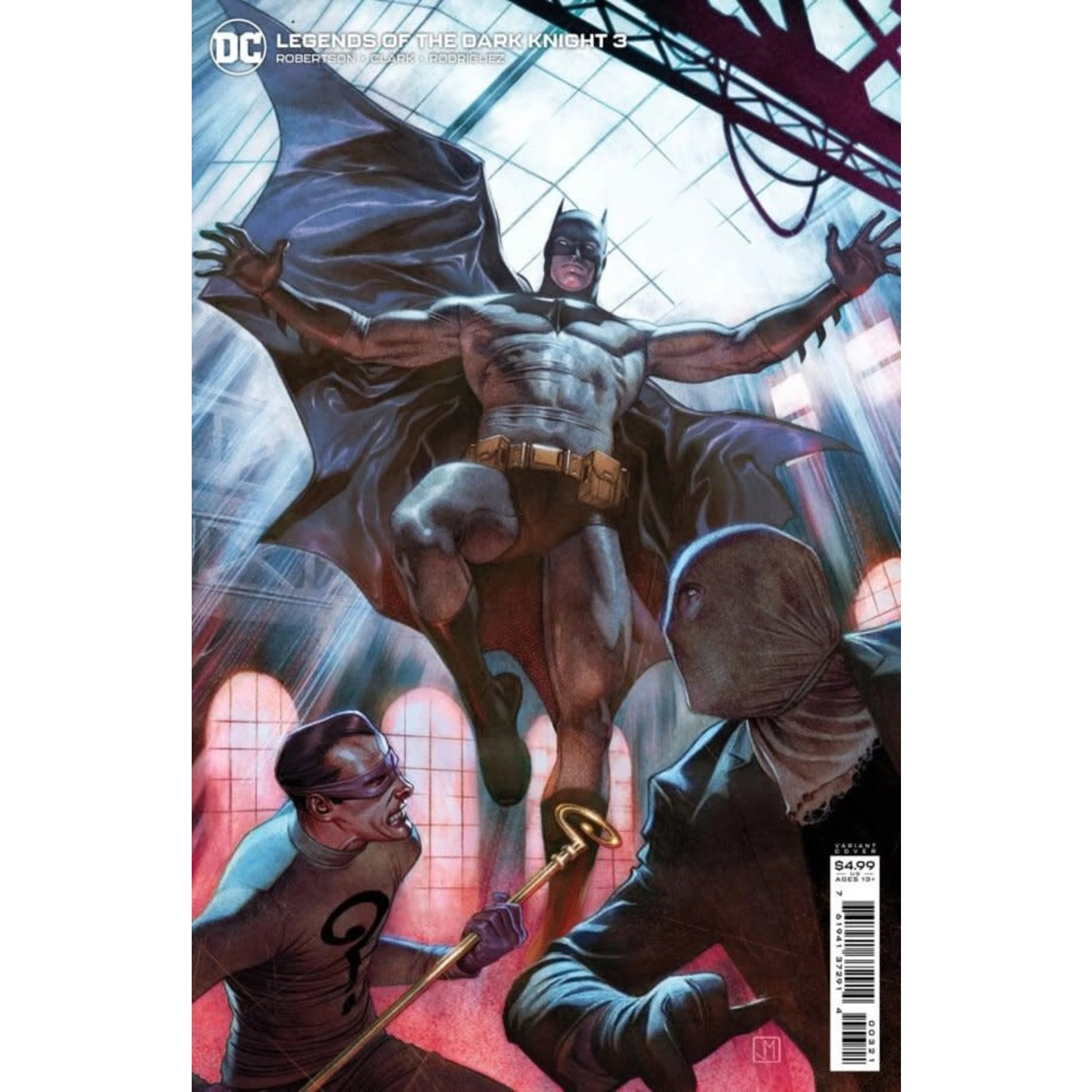 DC Comics Legends of the dark knight #3 Var