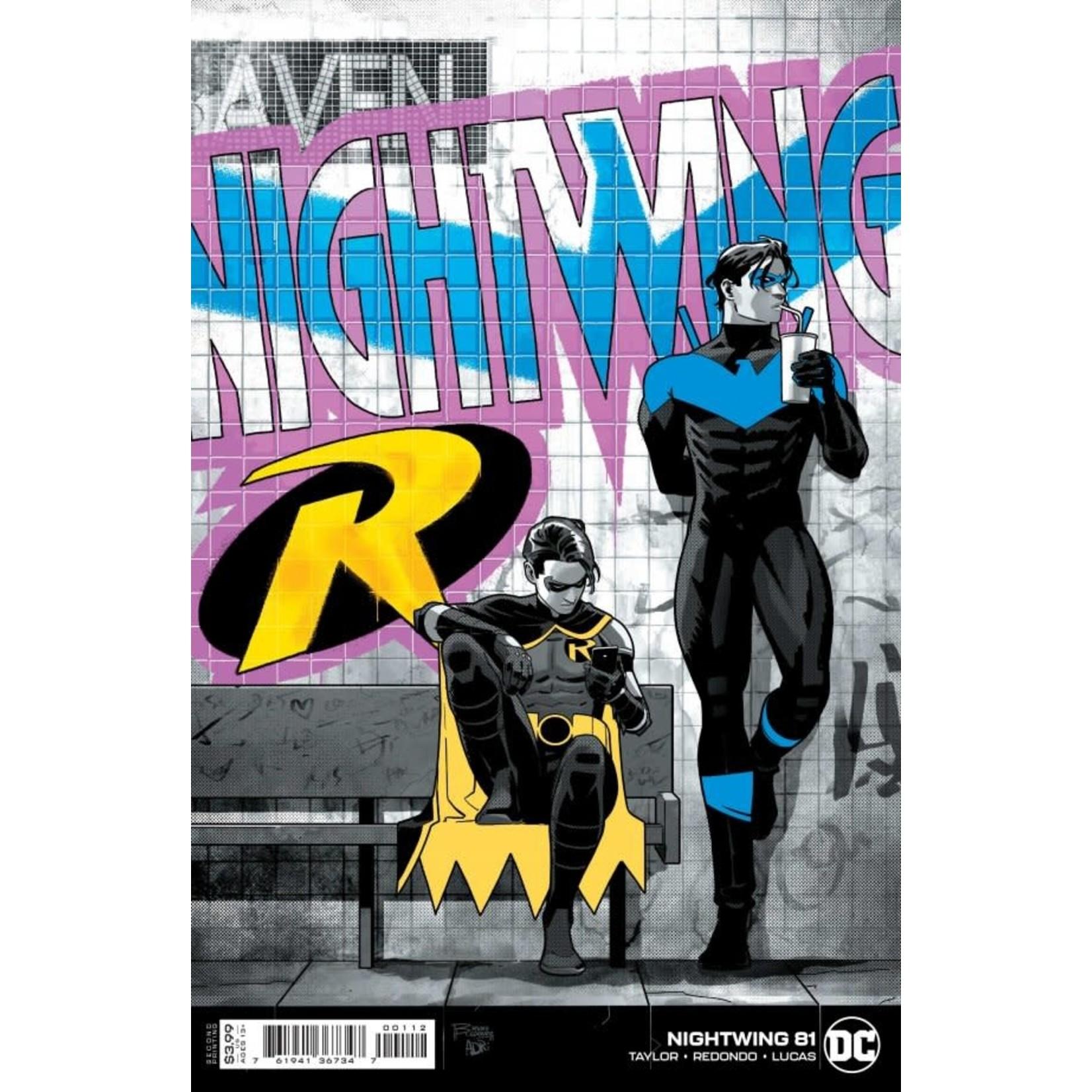 DC Comics Nightwing #81 Bruno Redondo Variant