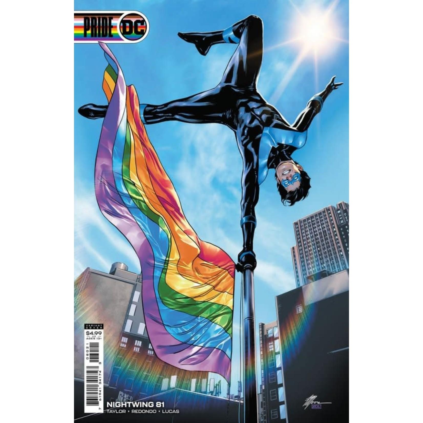 DC Comics NIGHTWING #81 CVR C RAVIS MOORE PRIDE  MONTH