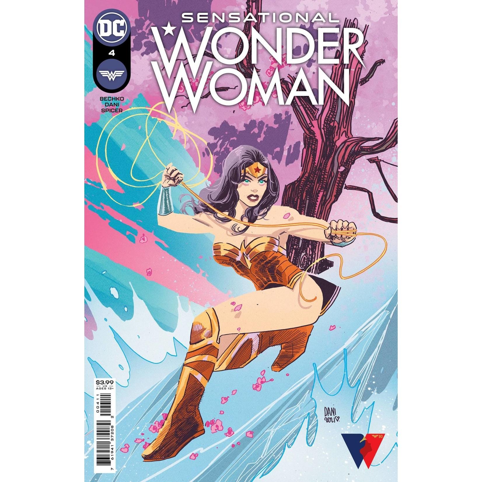 DC Comics SENSATIONAL WONDER WOMAN #4 CVR A DANI