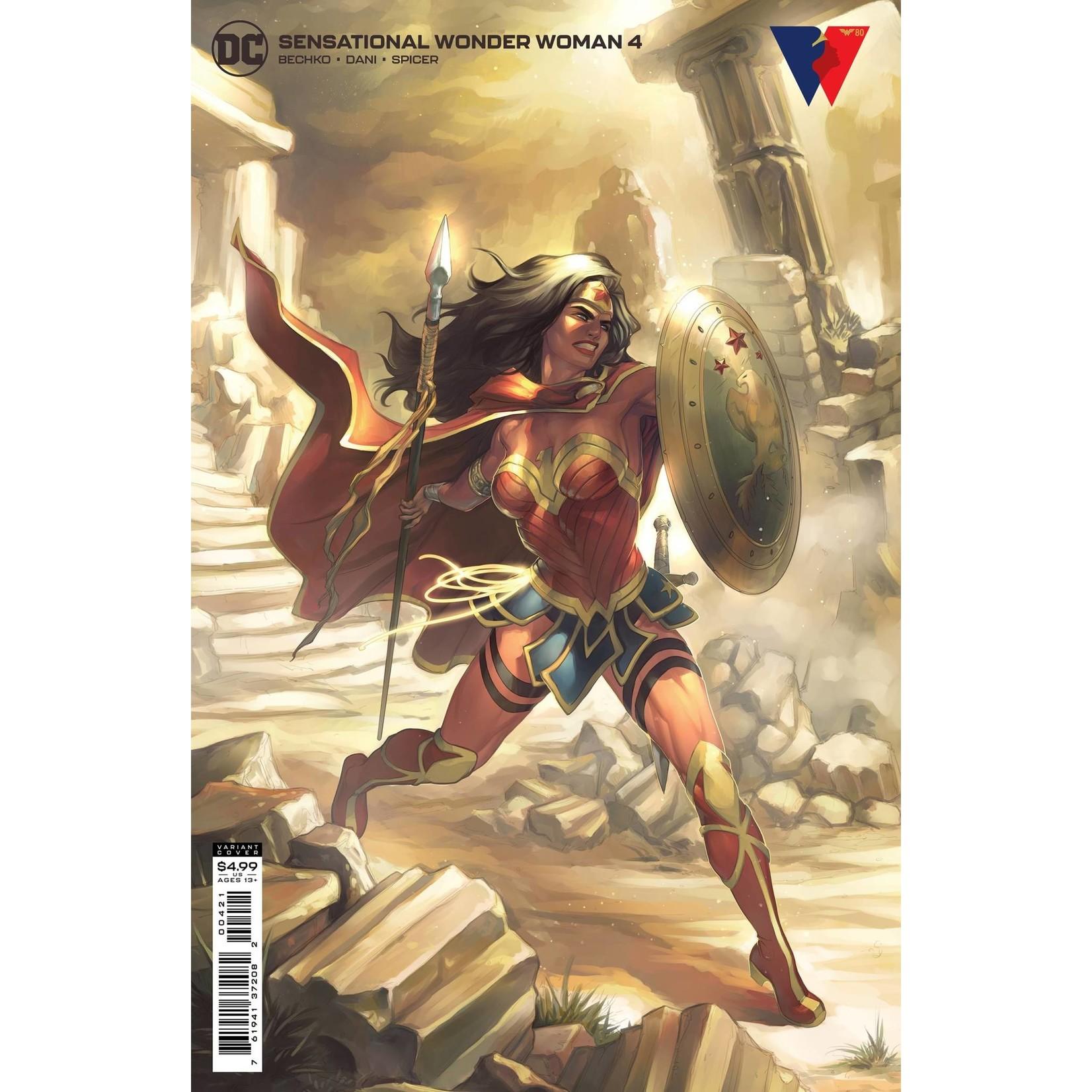 DC Comics SENSATIONAL WONDER WOMAN #4 CVR B MEGHAN HETRICK C