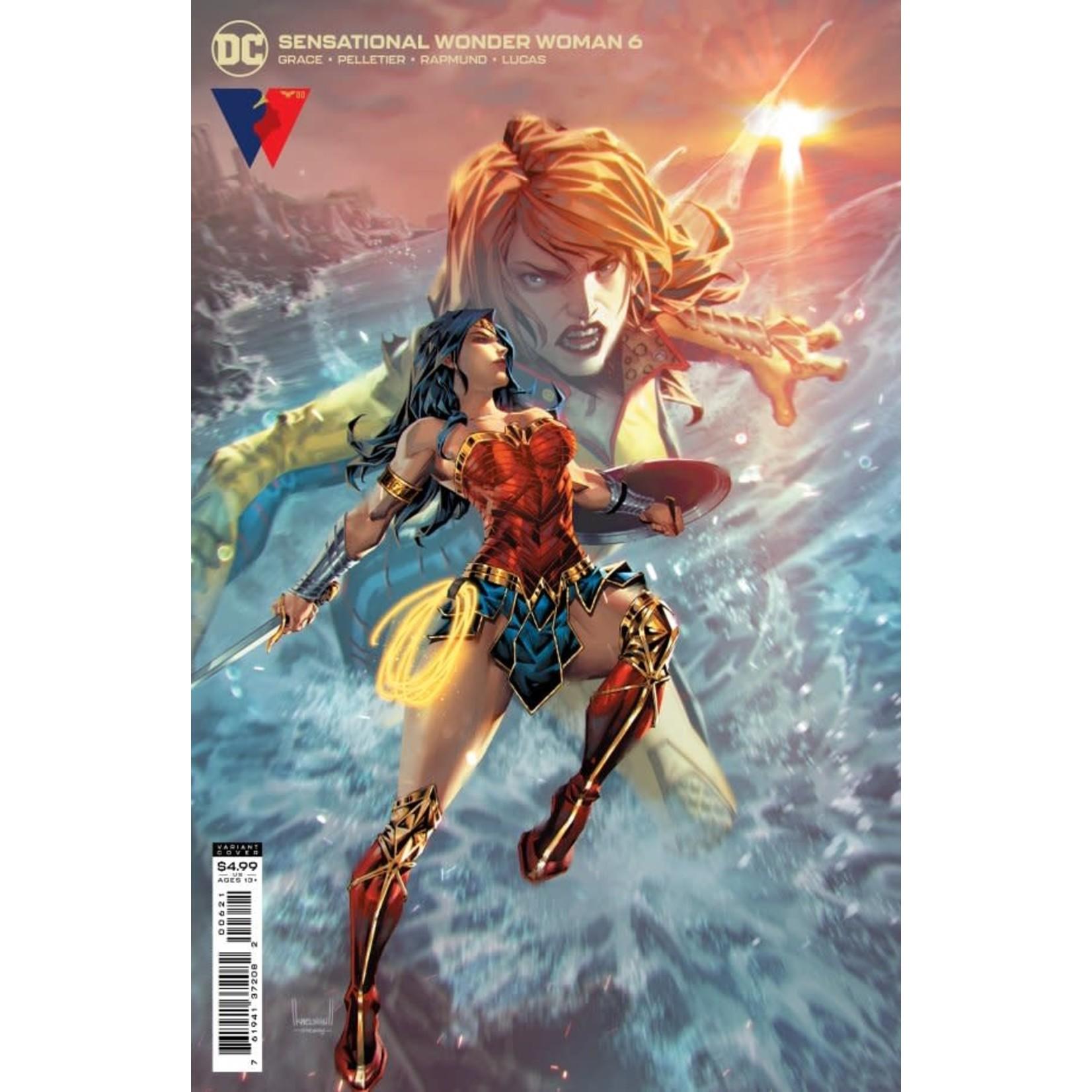 DC Comics Sensational Wonder Woman #6 Cover B Ngu Card Stock Variant