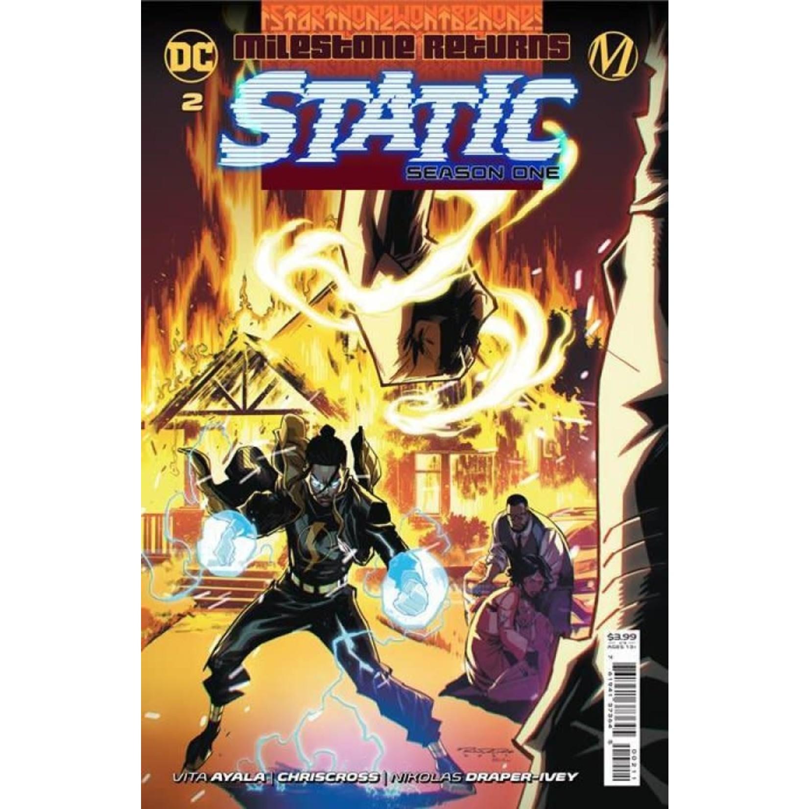 DC Comics Static: Season One #2