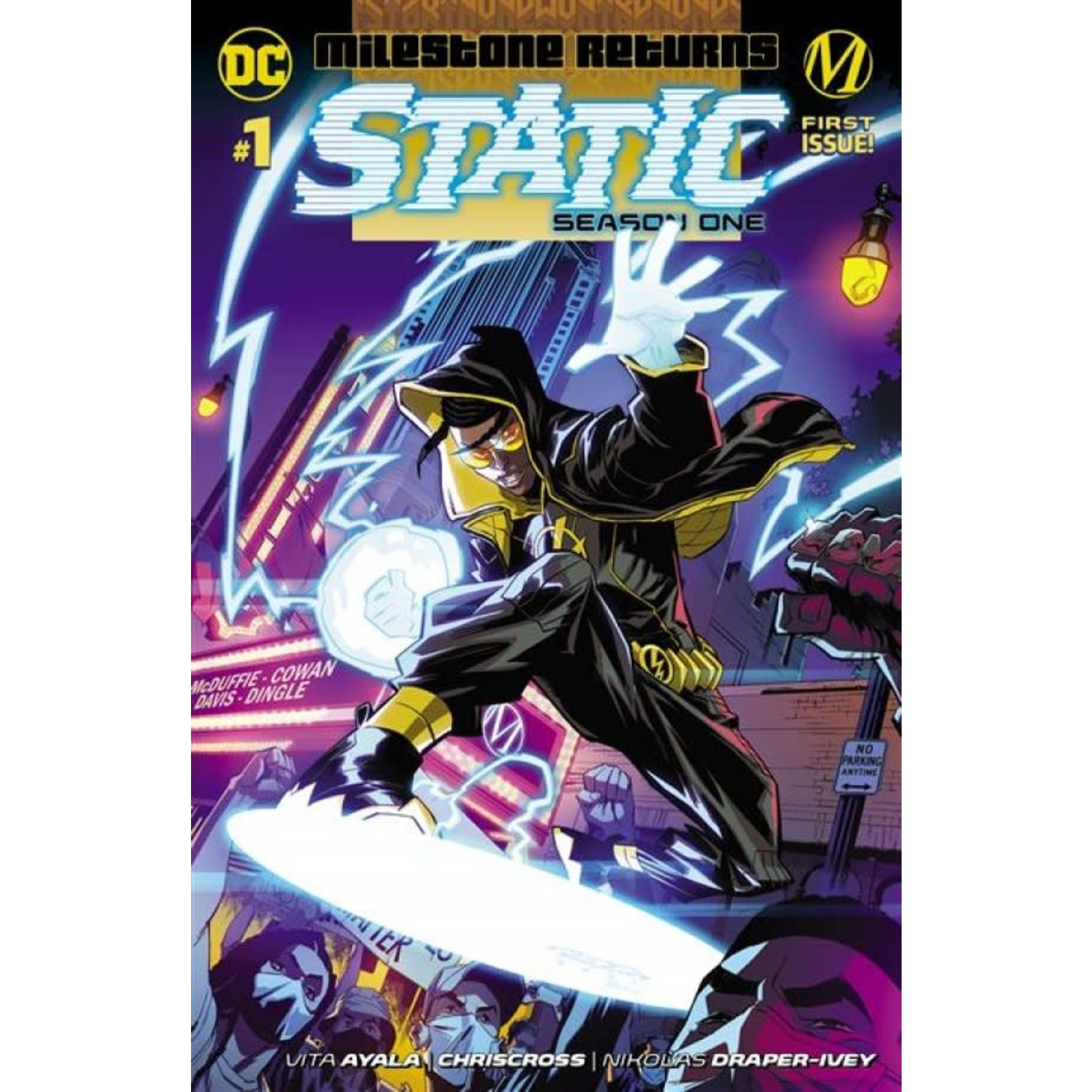 DC Comics STATIC SEASON ONE #1 CVR A KHARY  RANDOLPH