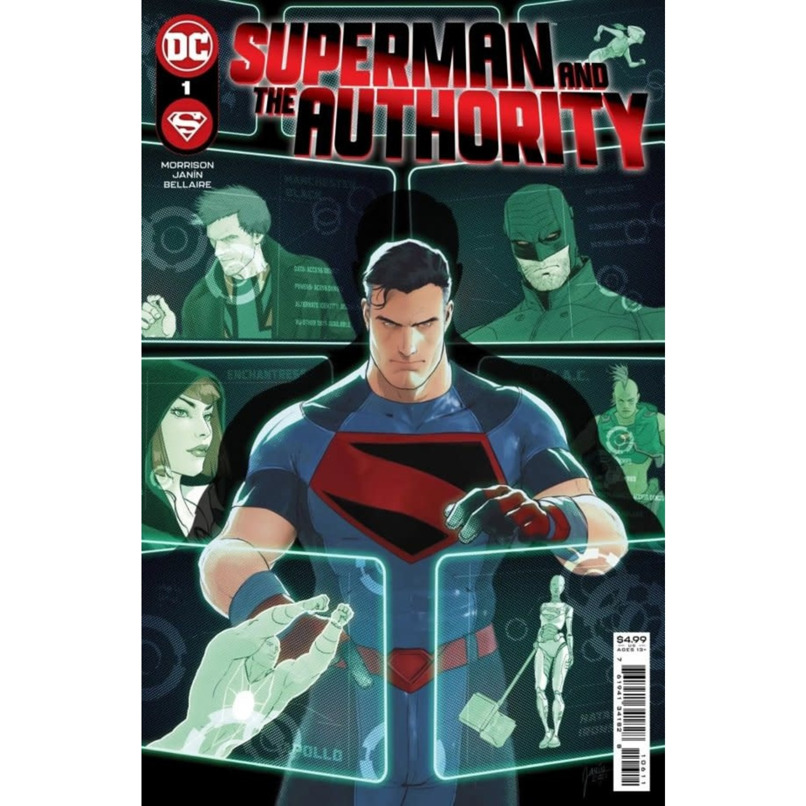 DC Comics Superman and the authority #1