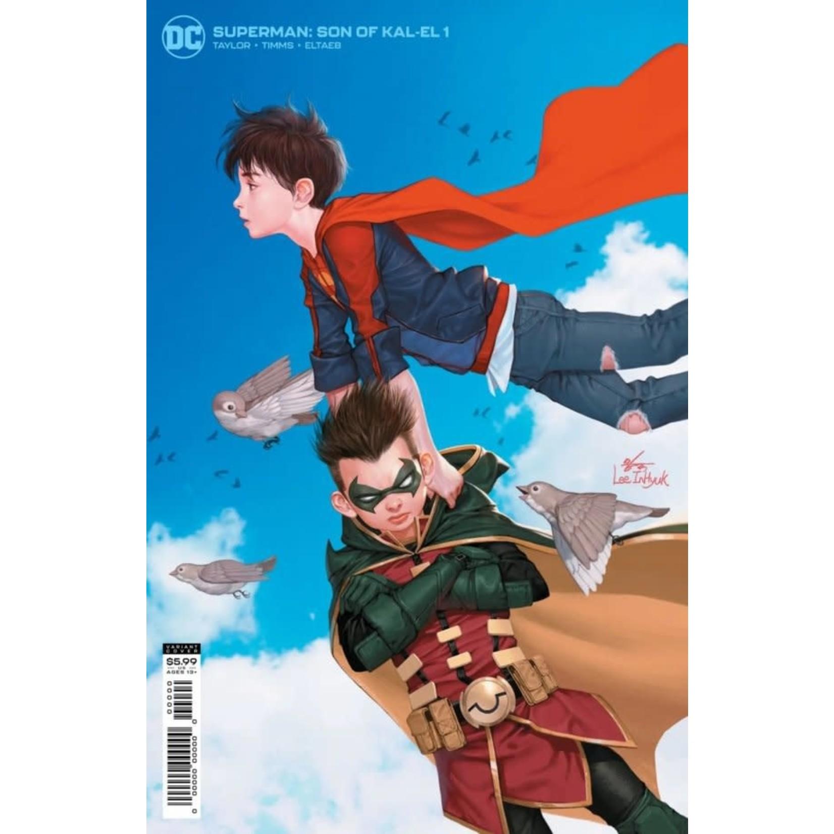 DC Comics Superman Son of Kal-El #1 VAR