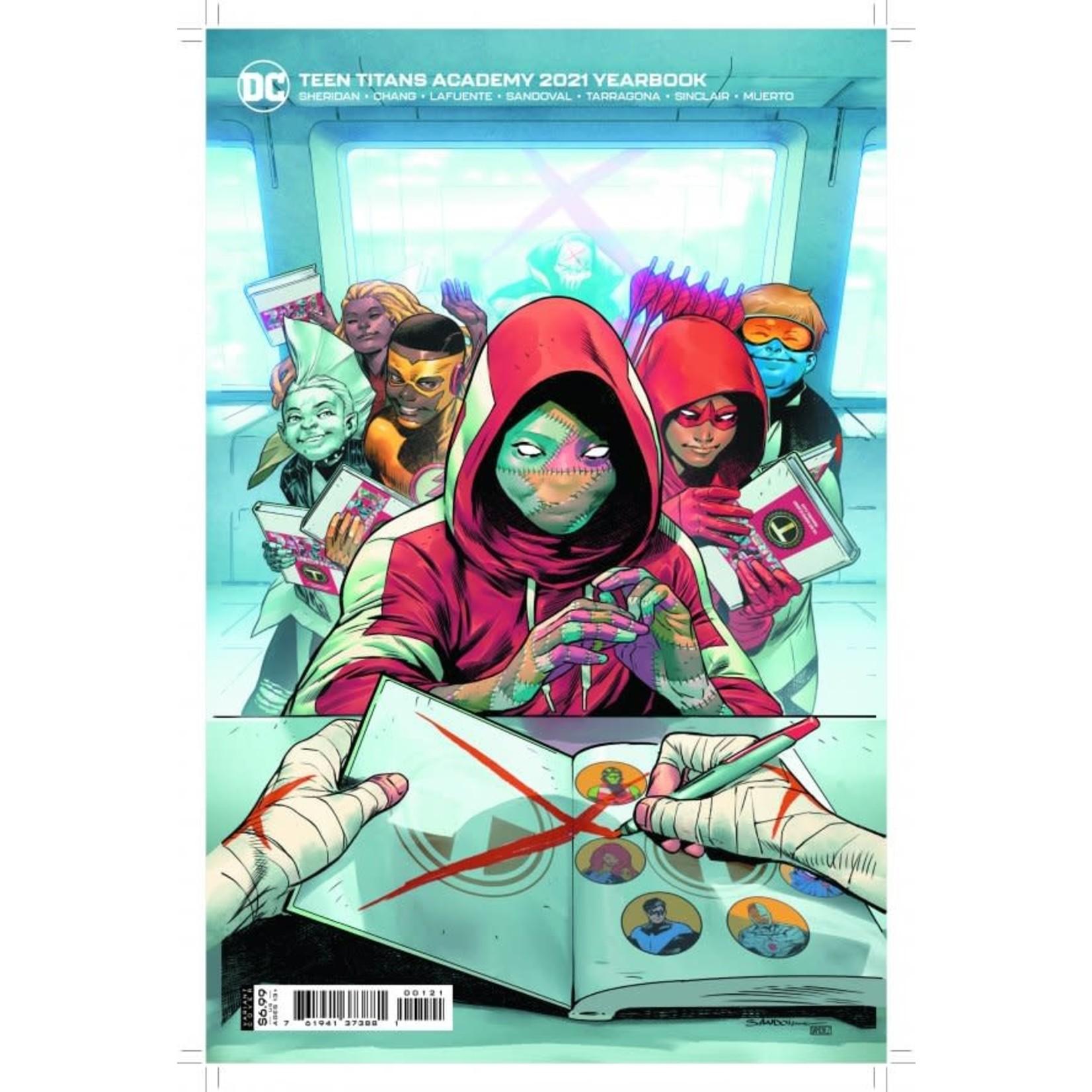 DC Comics Teen Titans Academy 2021 Yearbook #1 VAR