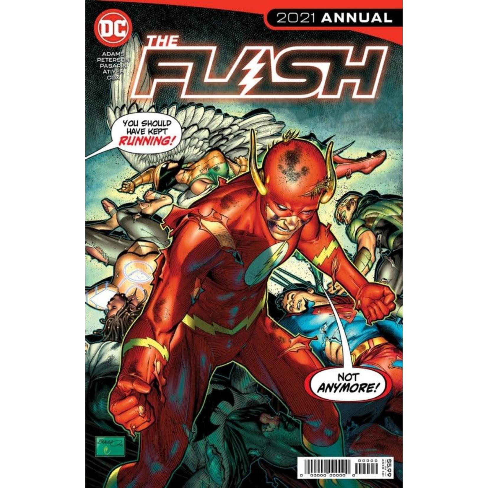 DC Comics The Flash Annual 2021 #1