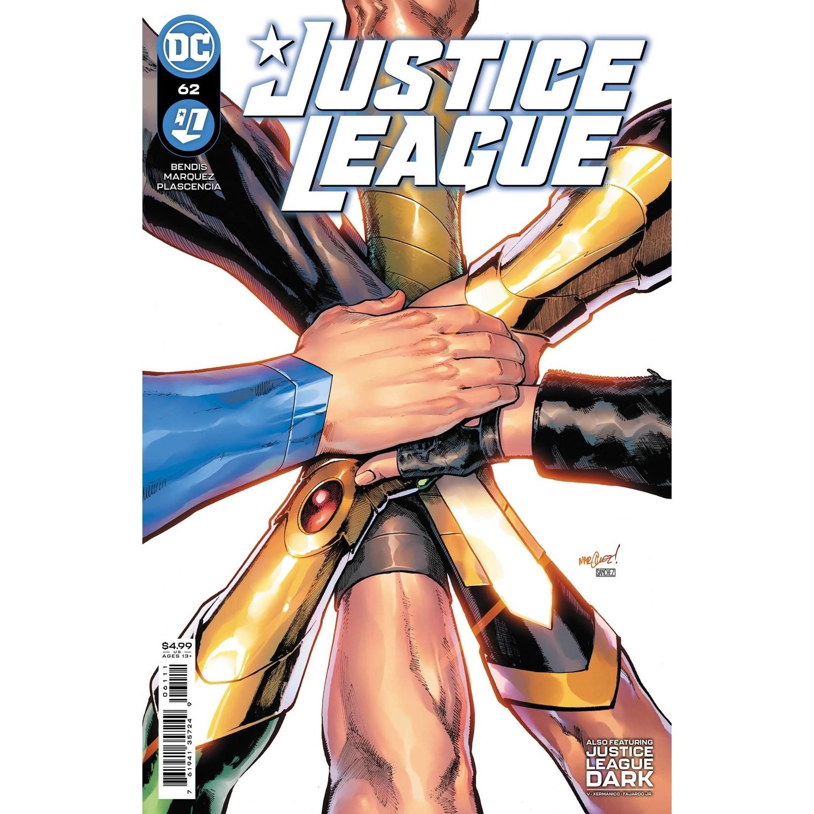 DC Comics JUSTICE LEAGUE #62 CVR A DAVID MARQUEZ
