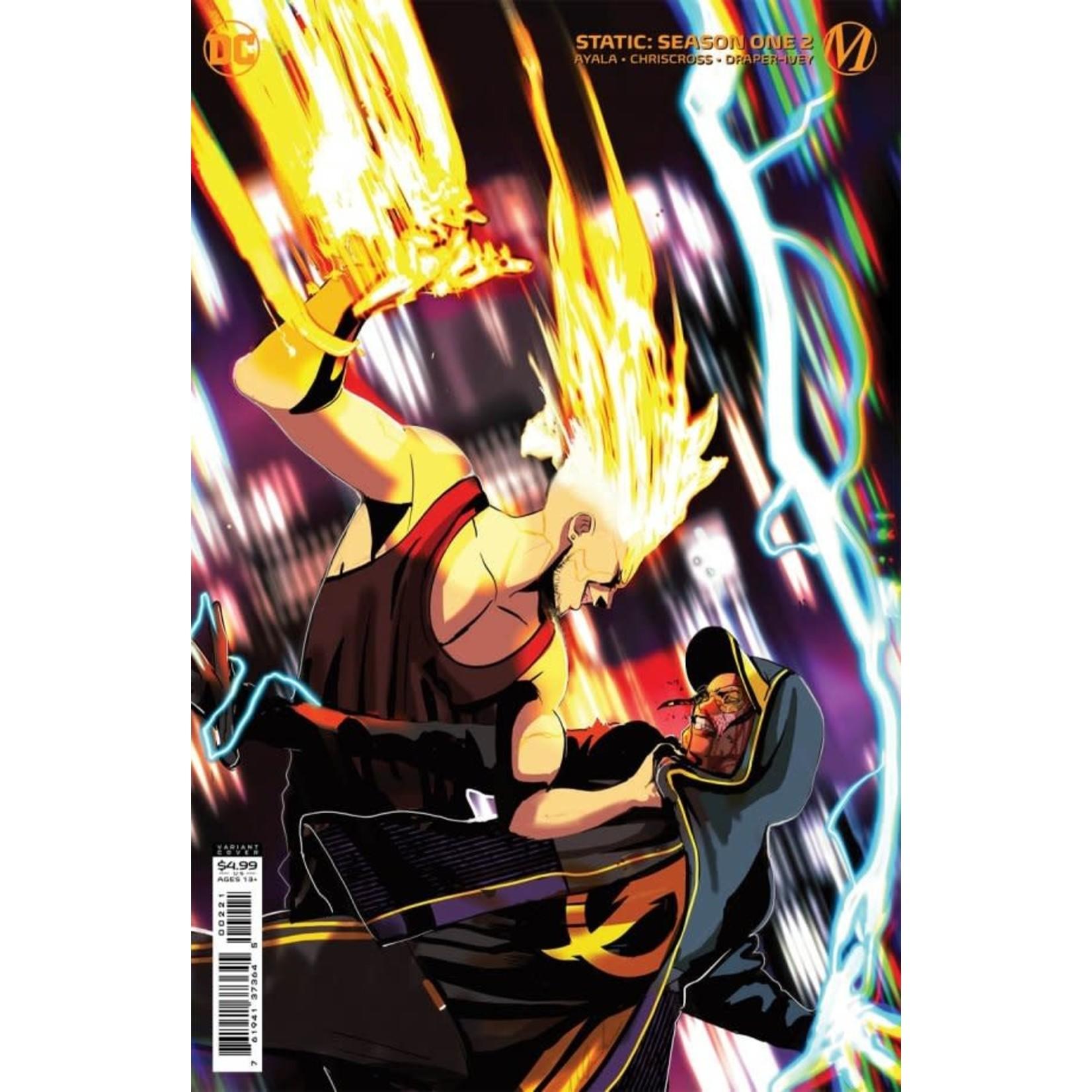 DC Comics Static: Season One #2 Card Stock Variant Cover