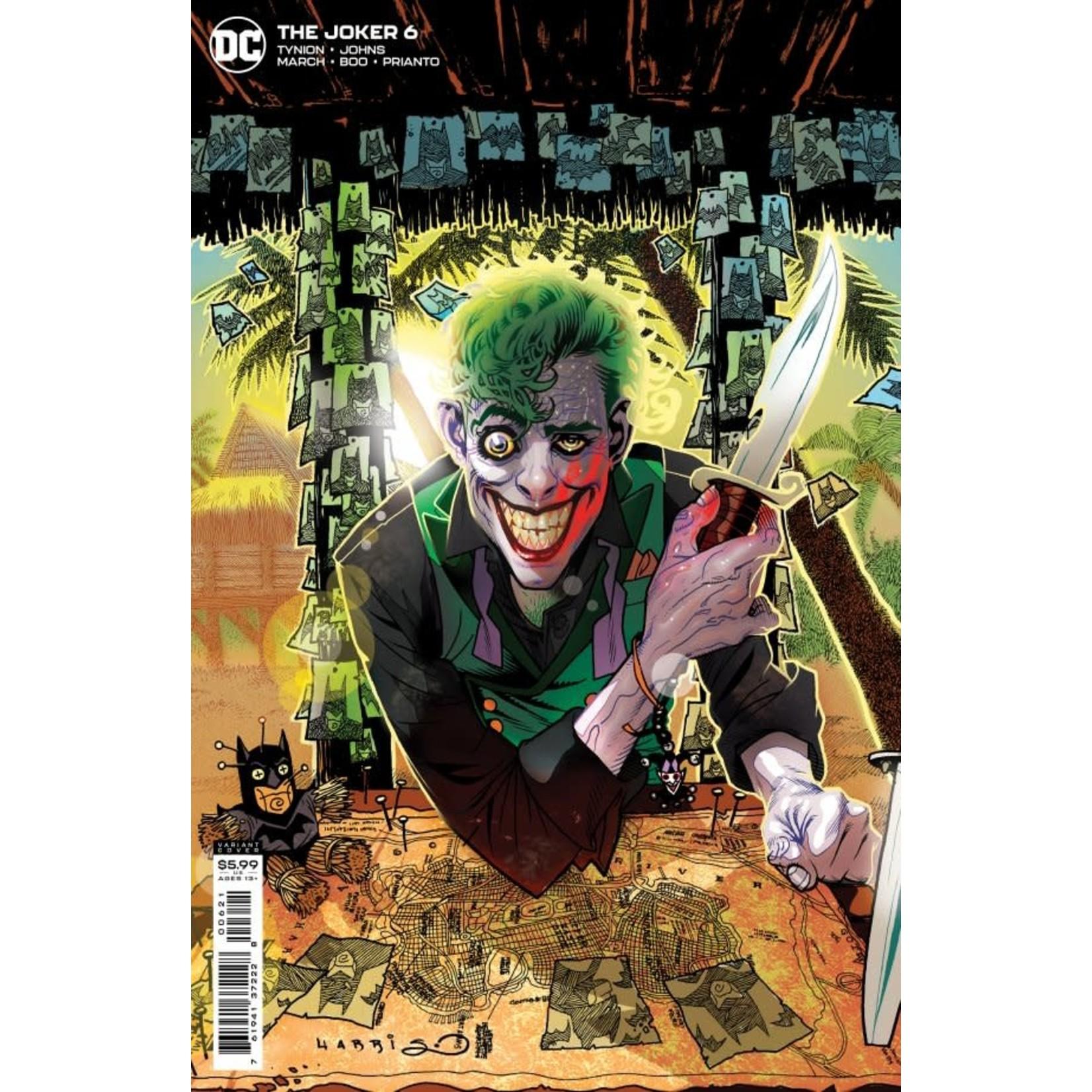 DC Comics The Joker #6 Cover B Harris