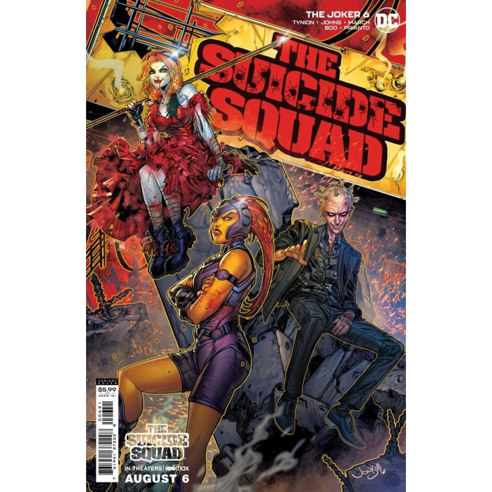 DC Comics The Joker #6 Cover D Meyers Suicide Squad Movie Variant