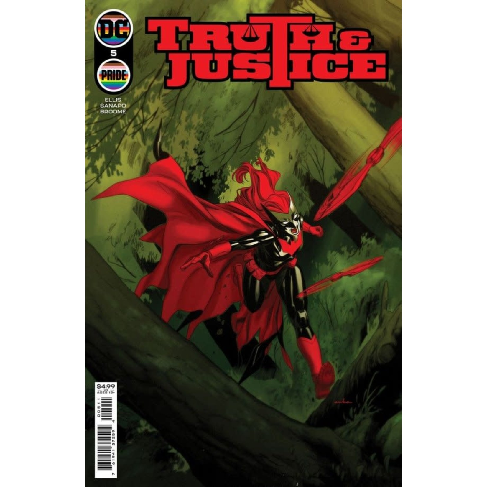 DC Comics TRUTH & JUSTICE #5 CVR A KRIS ANKA