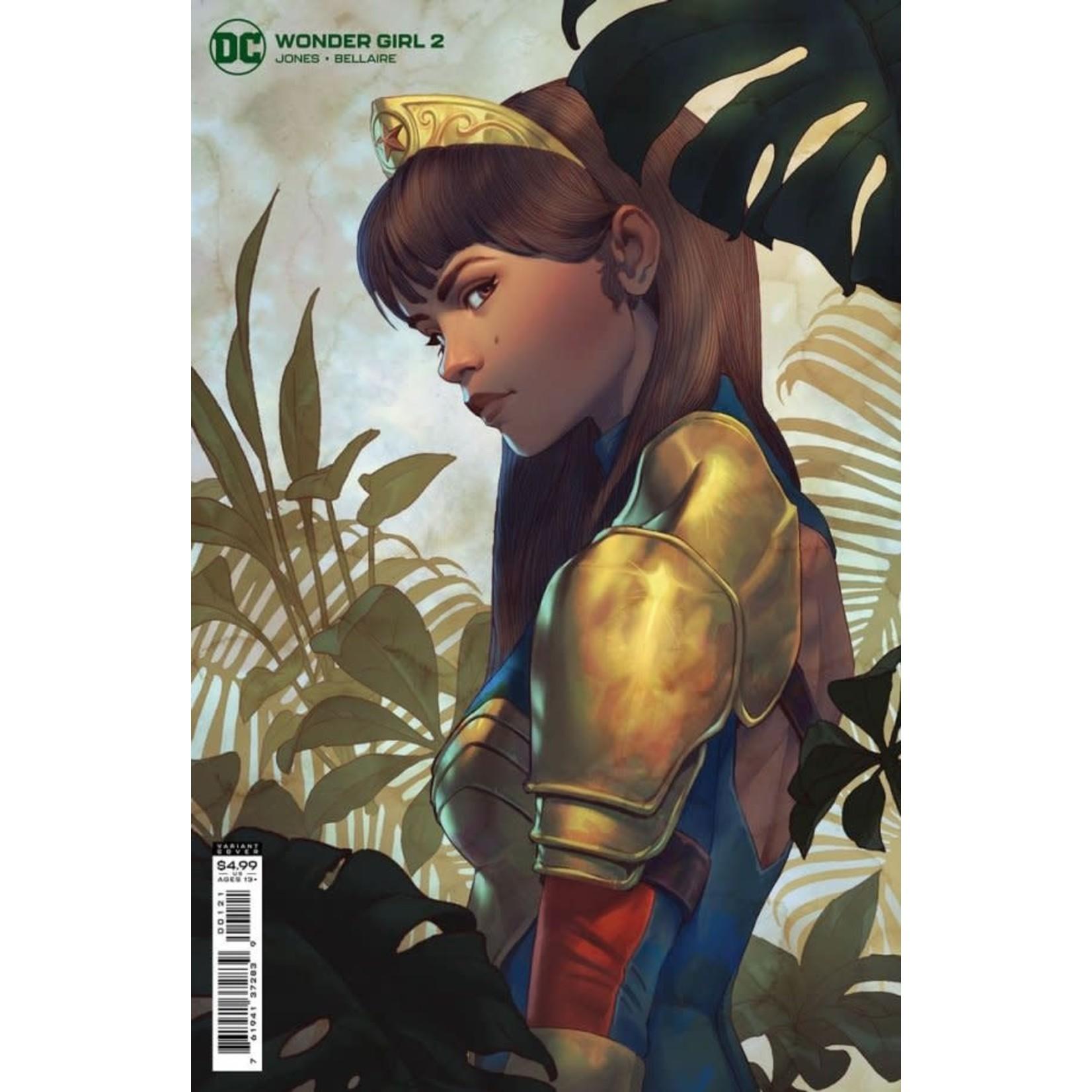 DC Comics Wonder Girl #2 Will Murai Card Stock Variant